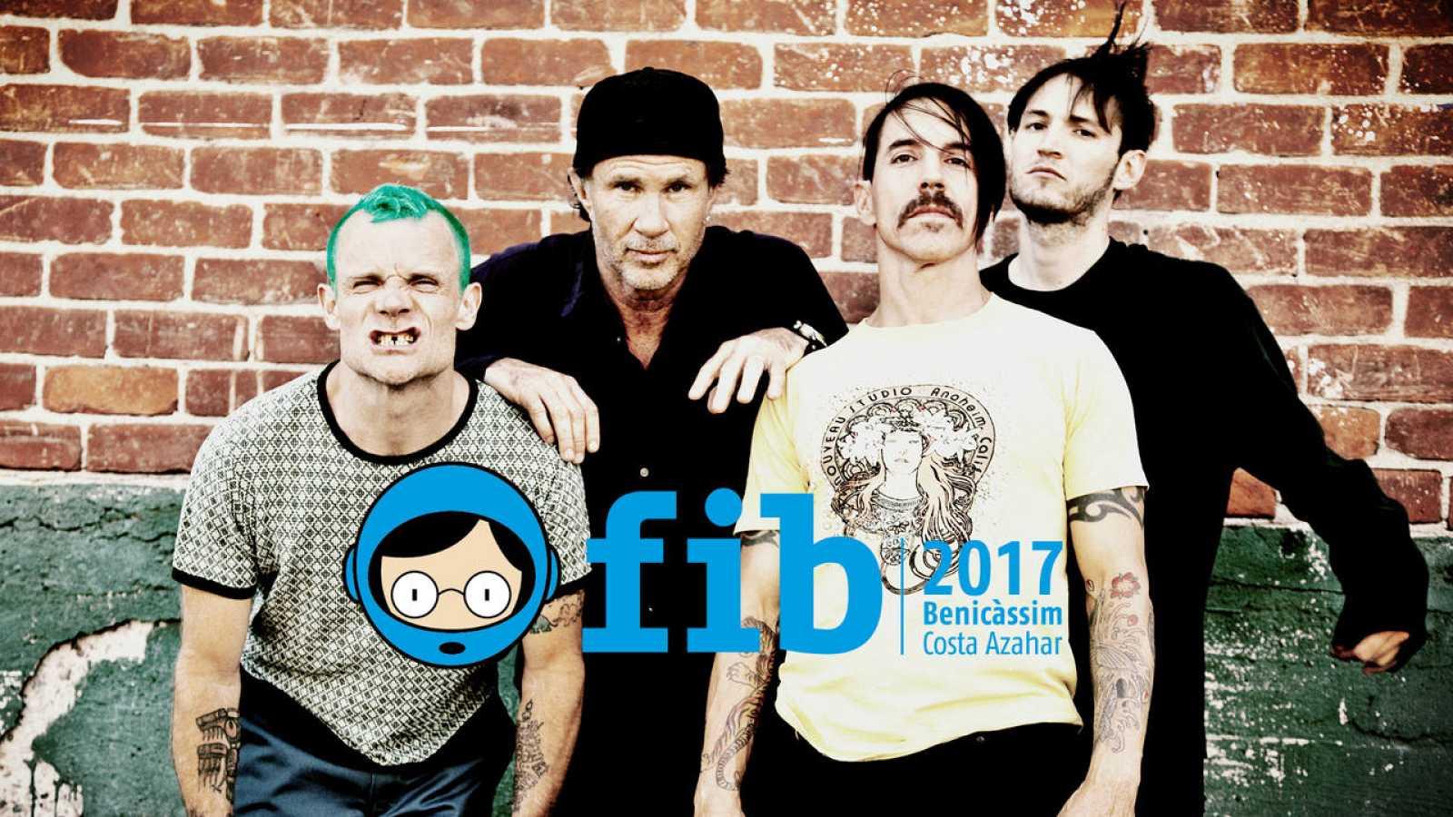 La del FIB será la única fecha de Red Hot Chili Peppers en España en 2017