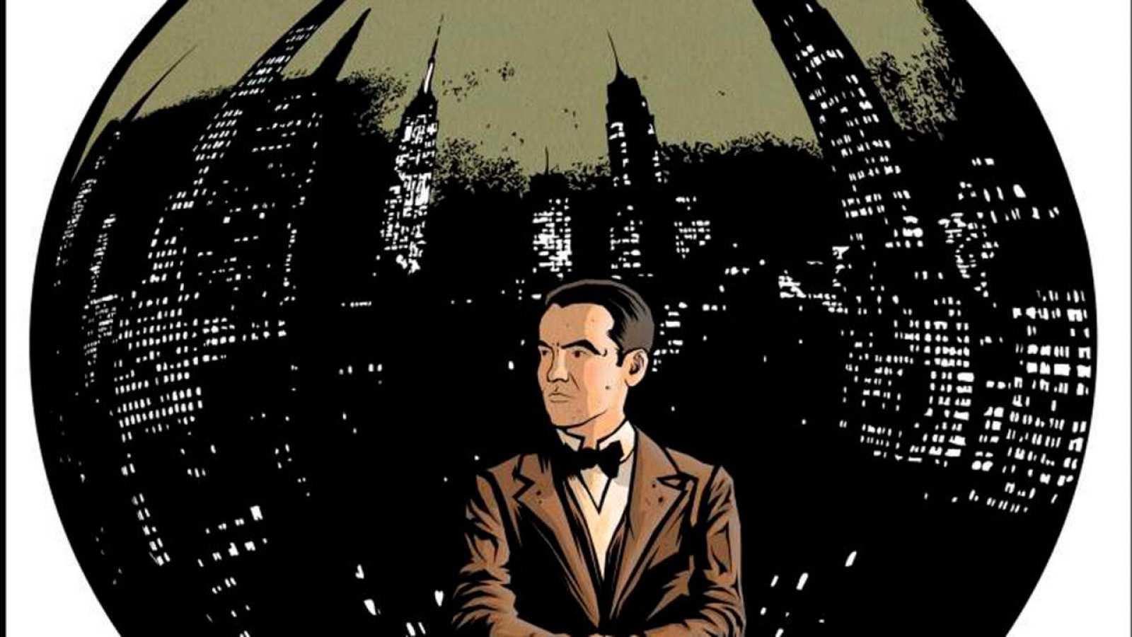 Fragmento de la portada de 'Lorca. Un poeta en Nueva York'