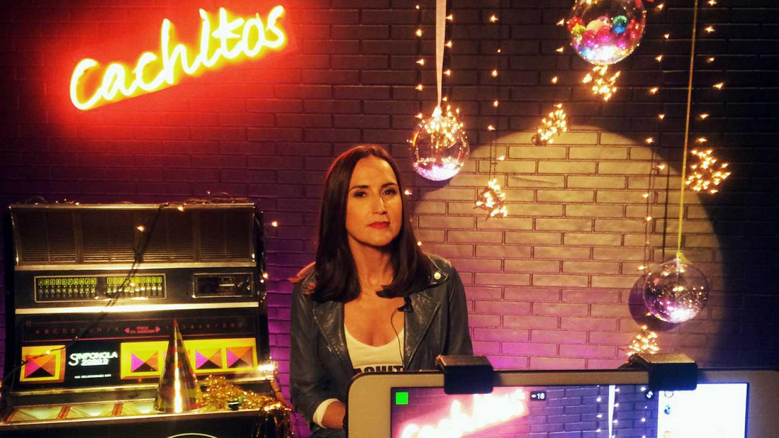 Virginia Díaz, durante el encuentro con los fans en Facebook live