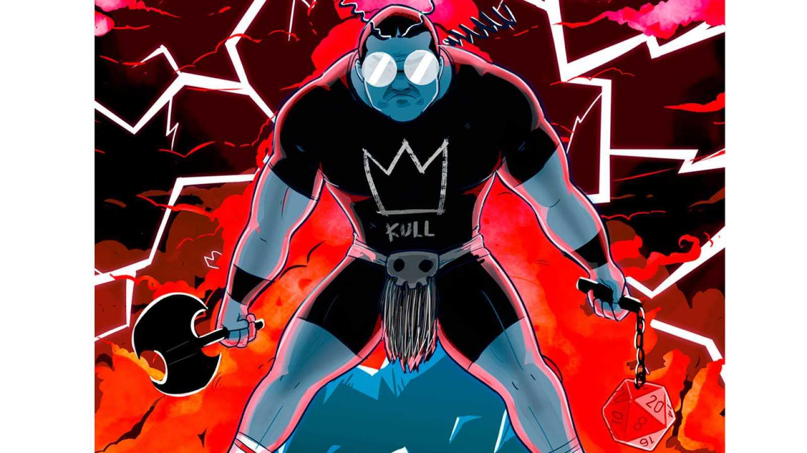 Fragmento de la portada de '¡Por Crom!'