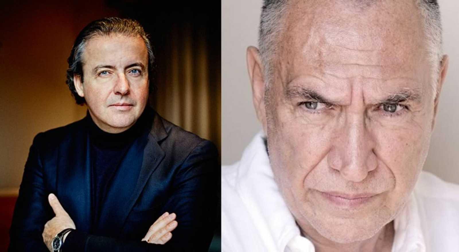 Juanjo Mena y Antoni Parera