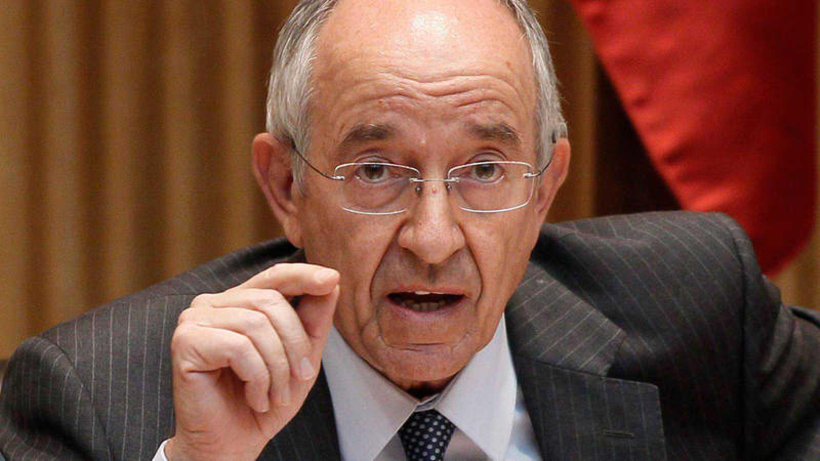 El exgobernador del Bando de España Miguel Ángel Fernández Ordóñez en una imagen de archivo