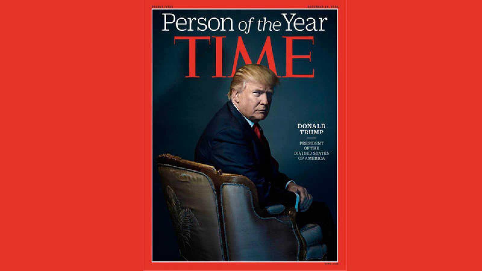 La portada de 'Time' con la elección de Donald Trump como personaje del año 2016