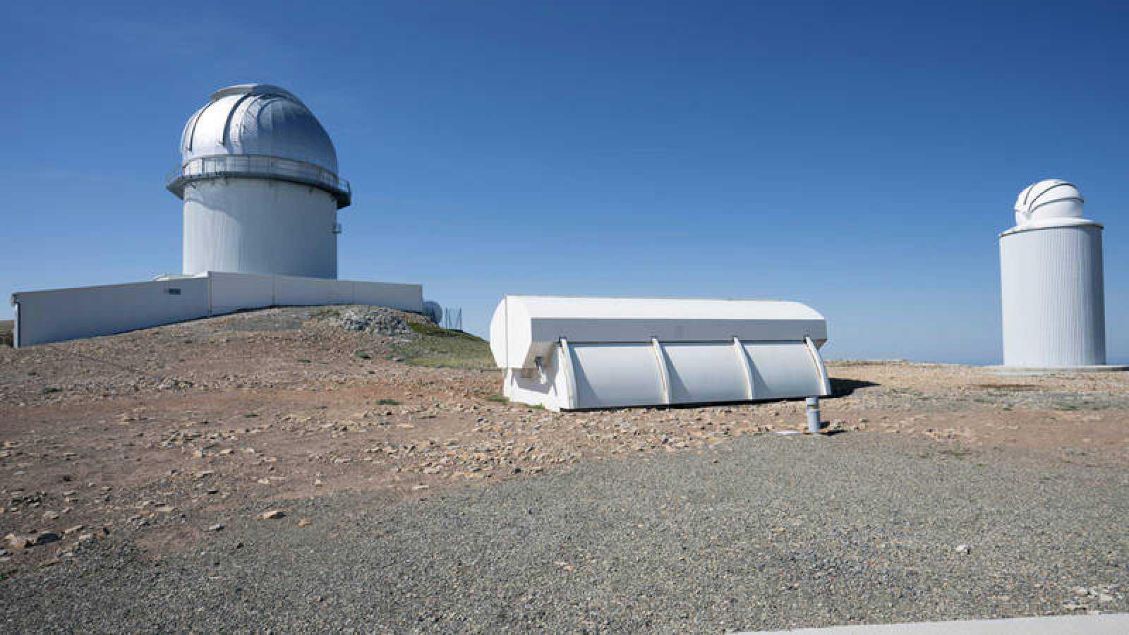 Imagen del Observatorio Astrofísico de Javalambre del Pico del Buitre (Teruel)