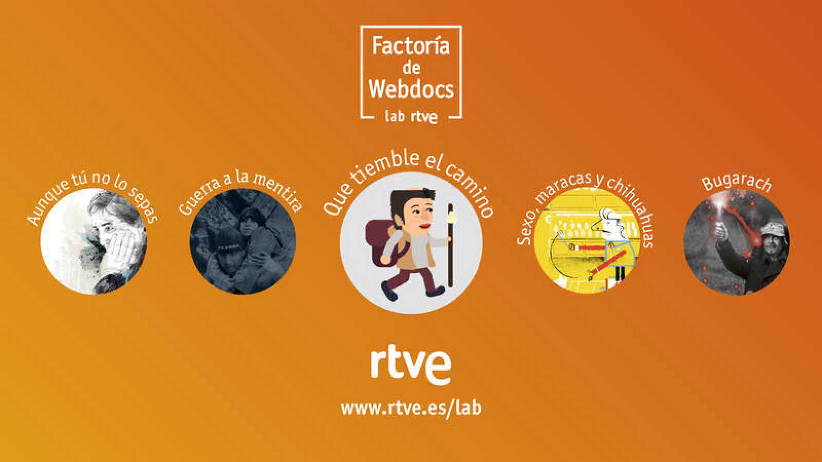 El Lab de RTVE.es pone en marcha 'Factoría de Webdocs'