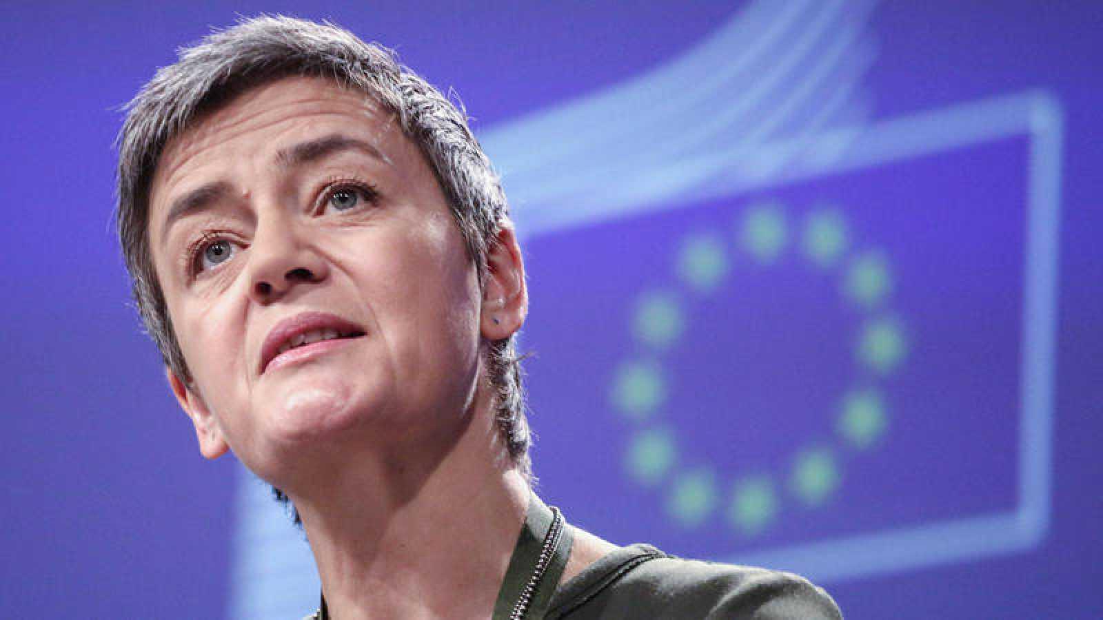 La comisaria europea de Competencia, Marghette Vestager, en una imagen de archivo