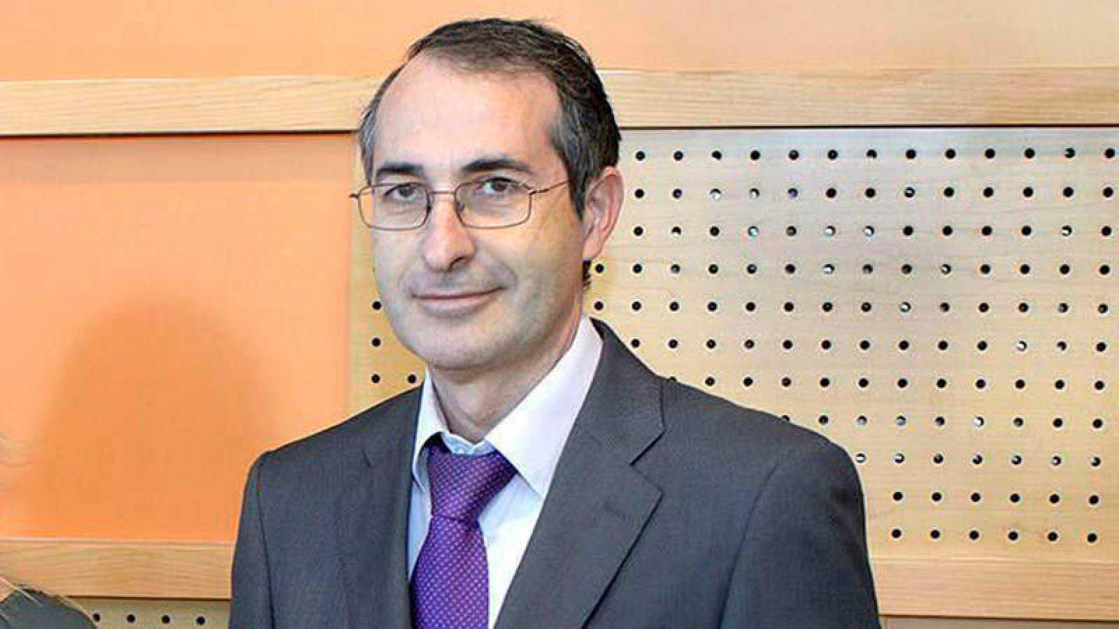 El rector de la URJC, Fernando Suárez, en una imagen de 2013