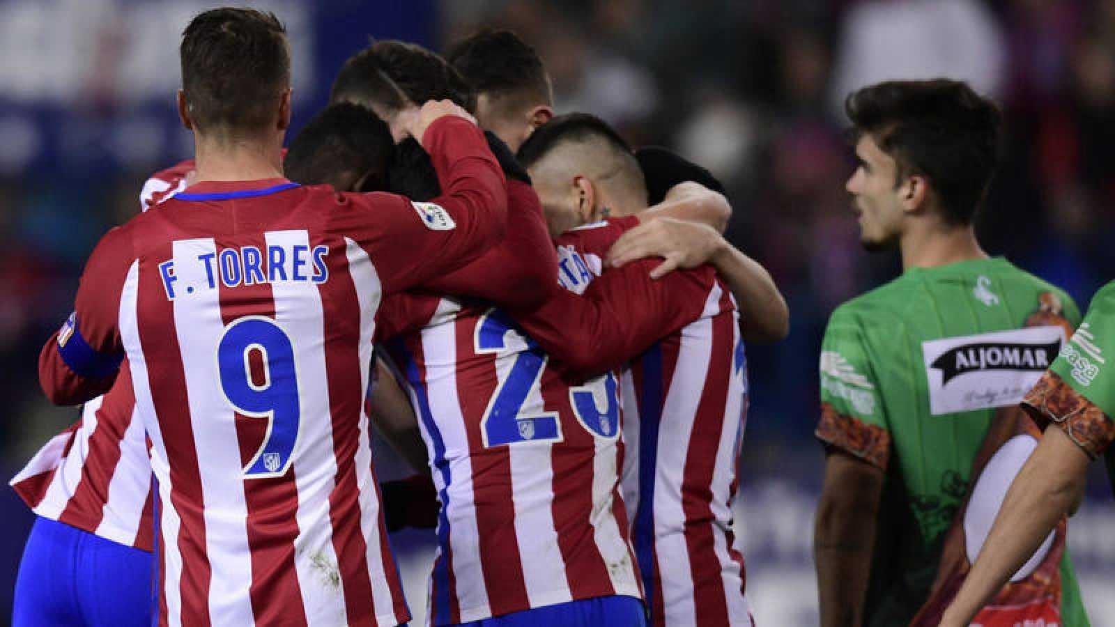 Copa Del Rey Atlético De Madrid 4 1 Guijuelo El Atlético Pasa El Trámite En Medio Partido Rtve Es