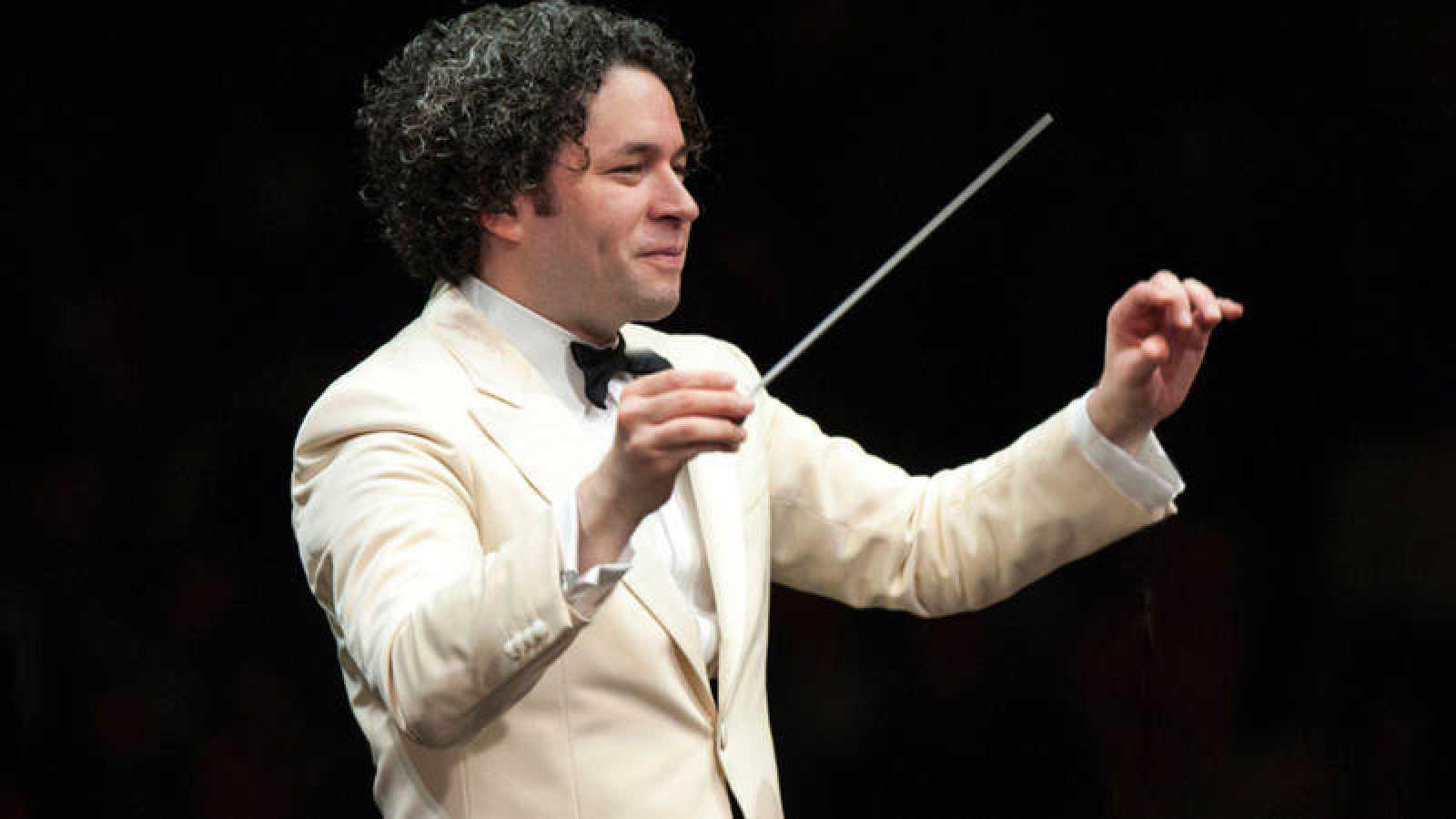 El director de orquesta venezolano Gustavo Dudamel