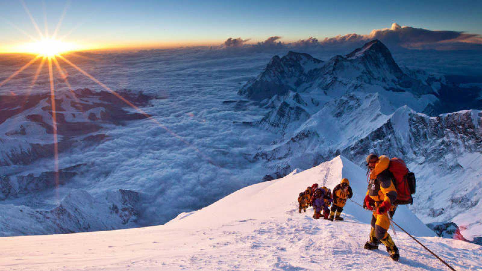 El Monte Everest es el más alto del planeta con 8.848,86 metros