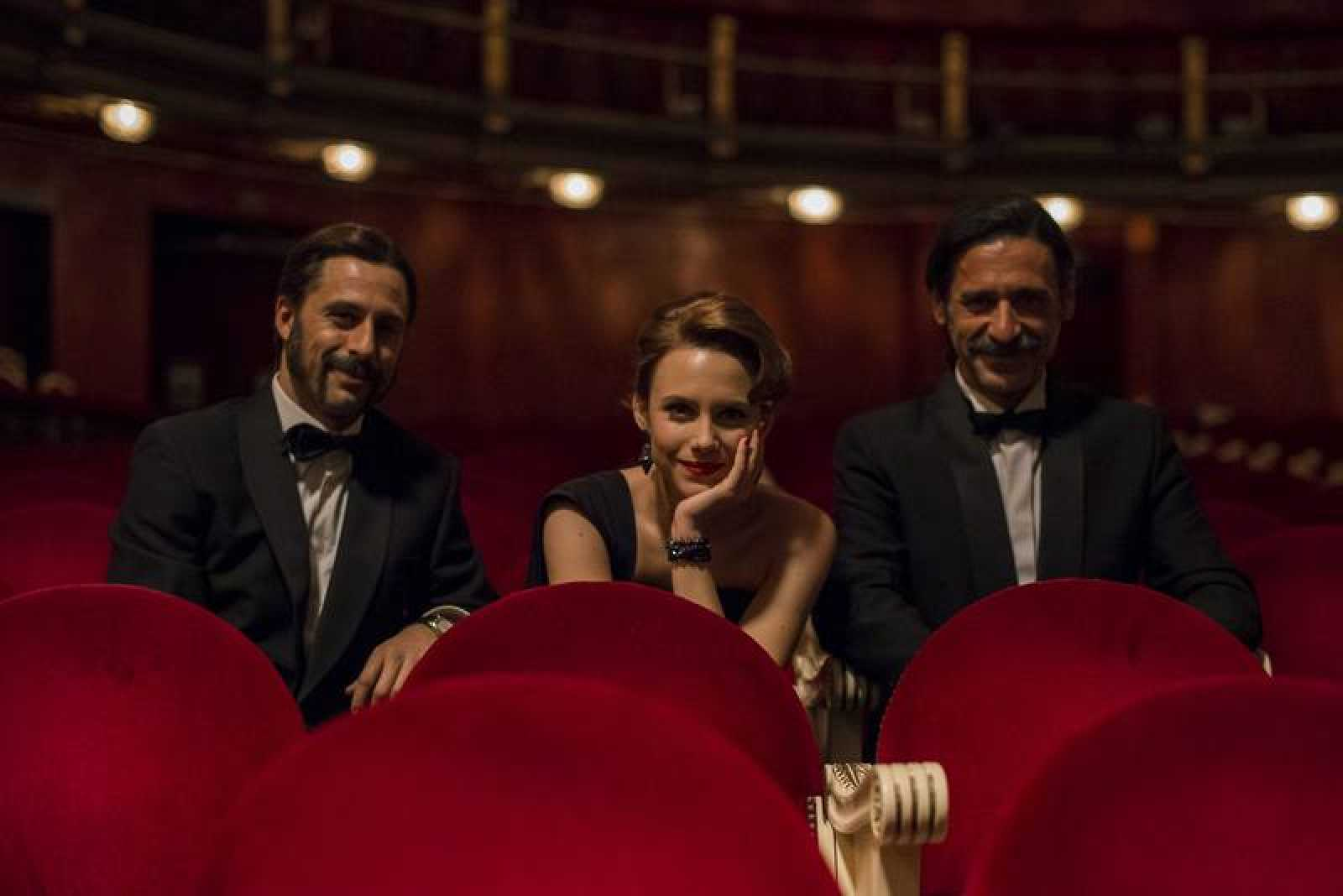 Hugo Silva, Aura Garrido y Nacho Fresneda protagonizan 'El Ministerio del Tiempo'