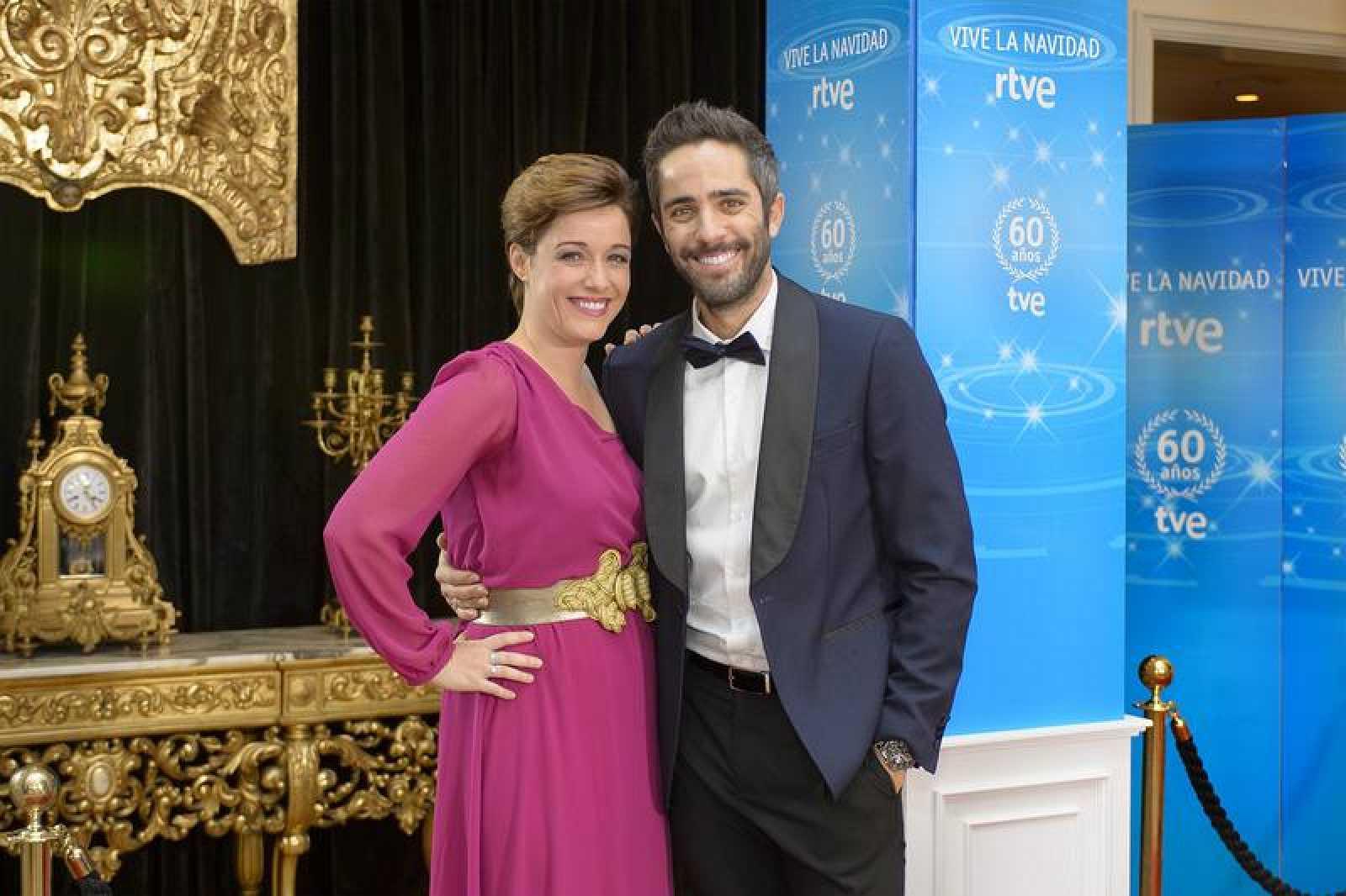 Marta Solano y Roberto Leal, presentadores de la Cabalgata en RTVE