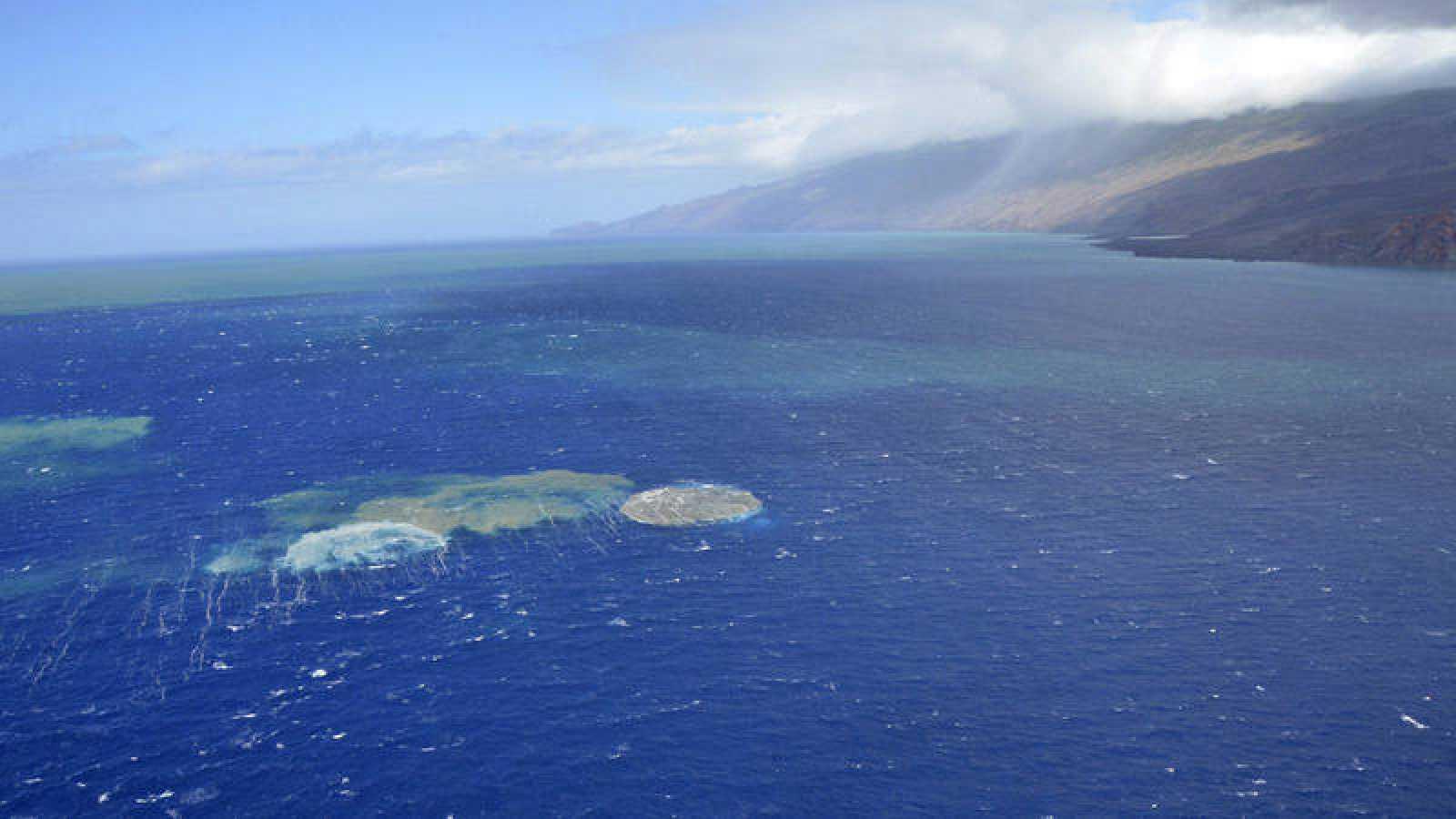 La última erupción de El Hierro supuso el nacimiento del volcán Tagoro.