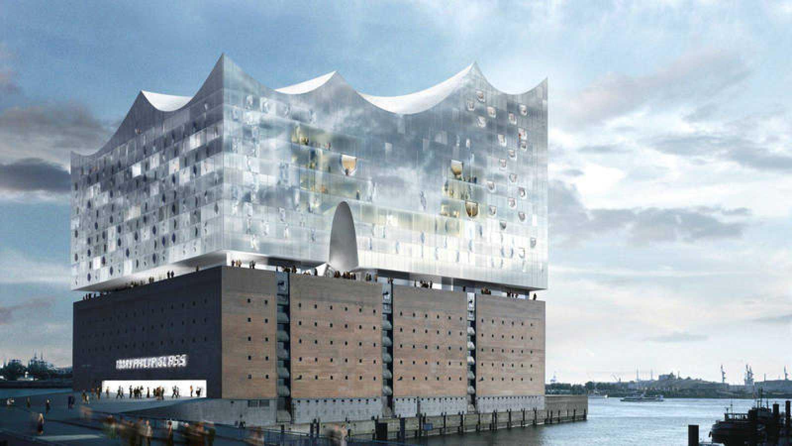 Elbphilharmonie en Hamburgo