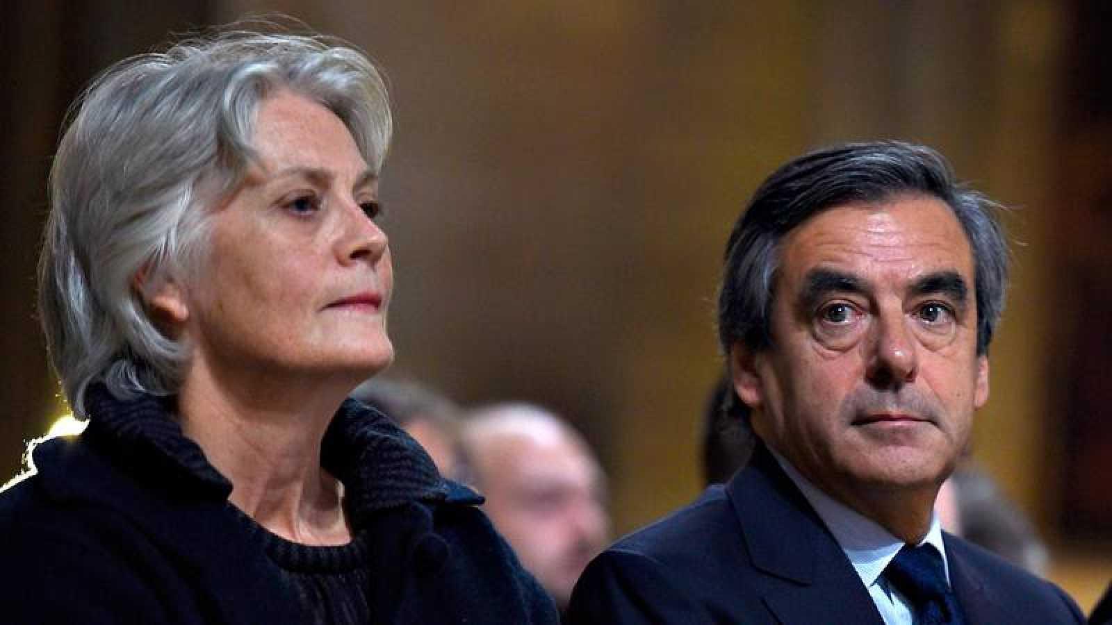 Penelope y François Fillon, en una imagen de archivo