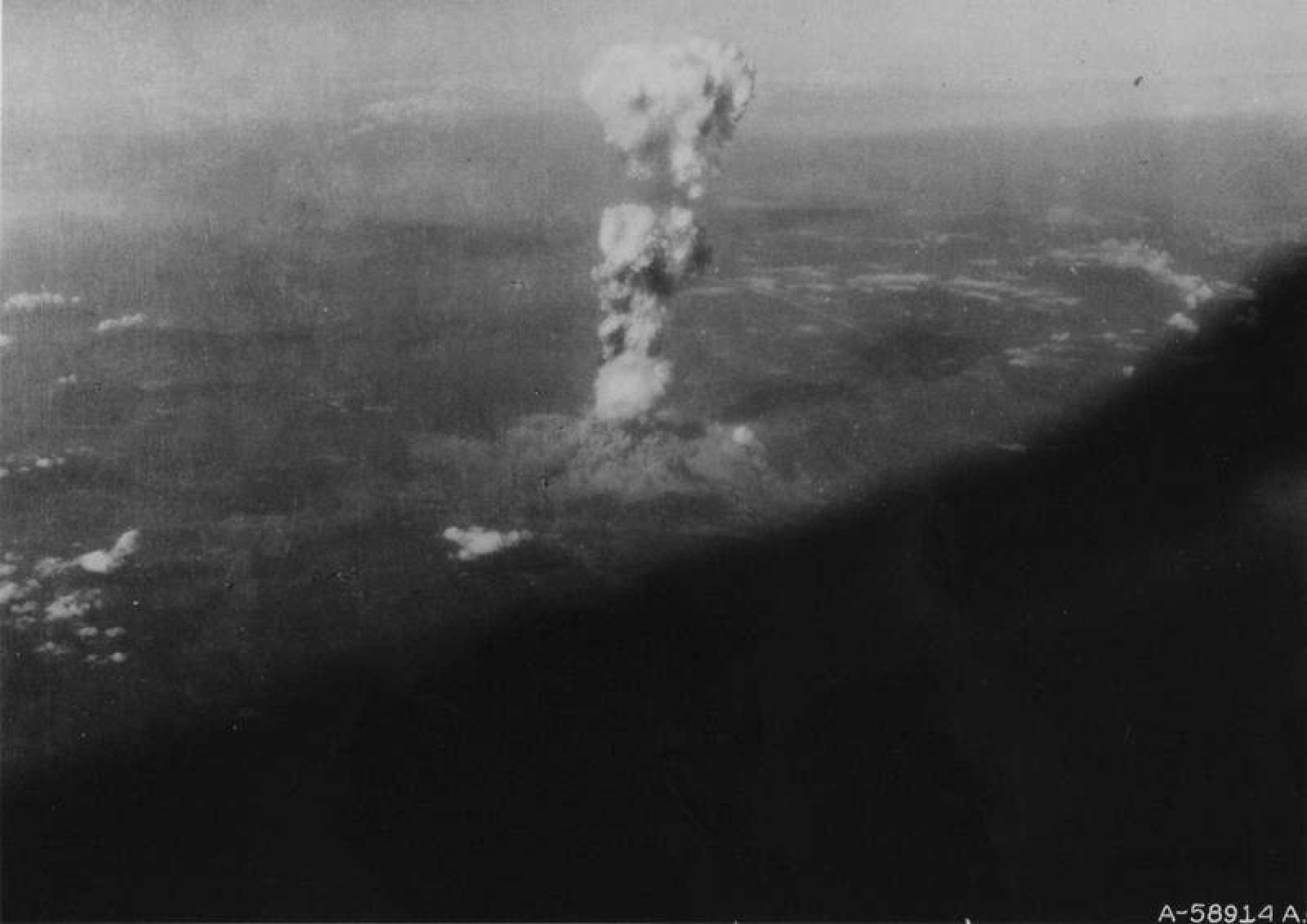 Publican fotos inéditas de Hiroshima tras el lanzamiento de la ...
