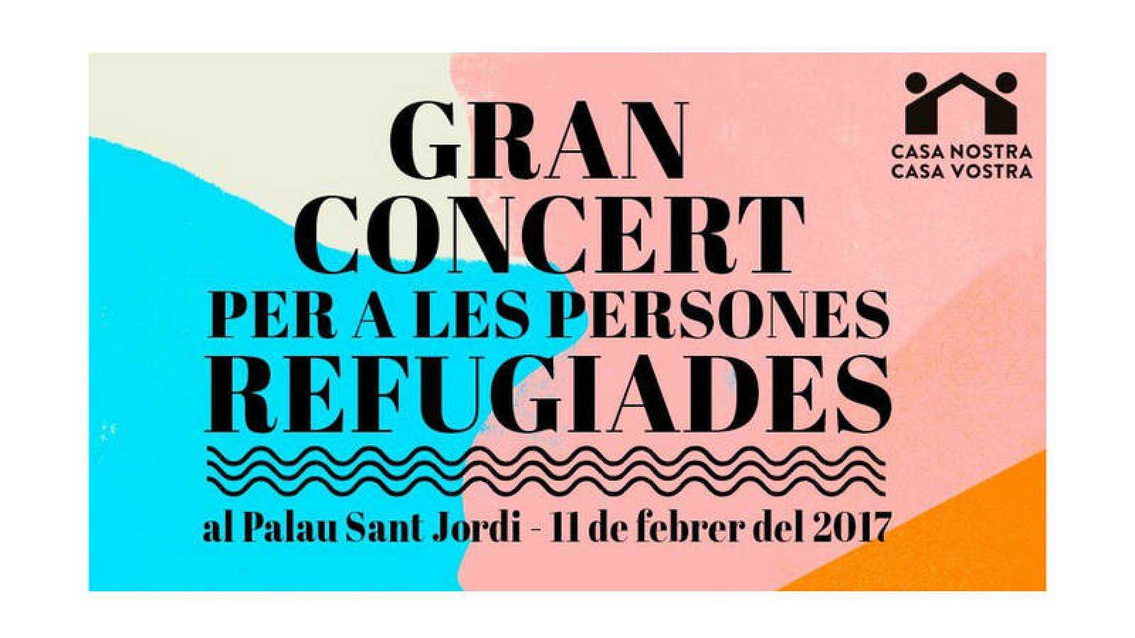 A partir de las 22.00, desde el Palau Sant Jordi de Barcelona y con más de 50 artistas sobre el escenario