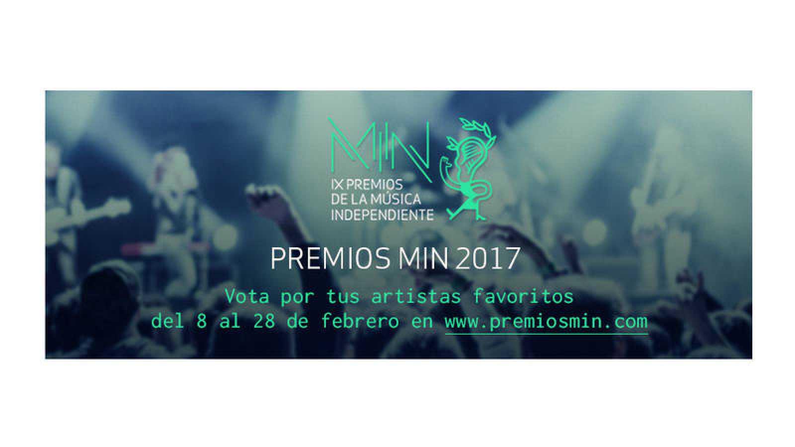 Hasta el 28 de febrero, vota a tus artistas favoritos en los Premios MIN