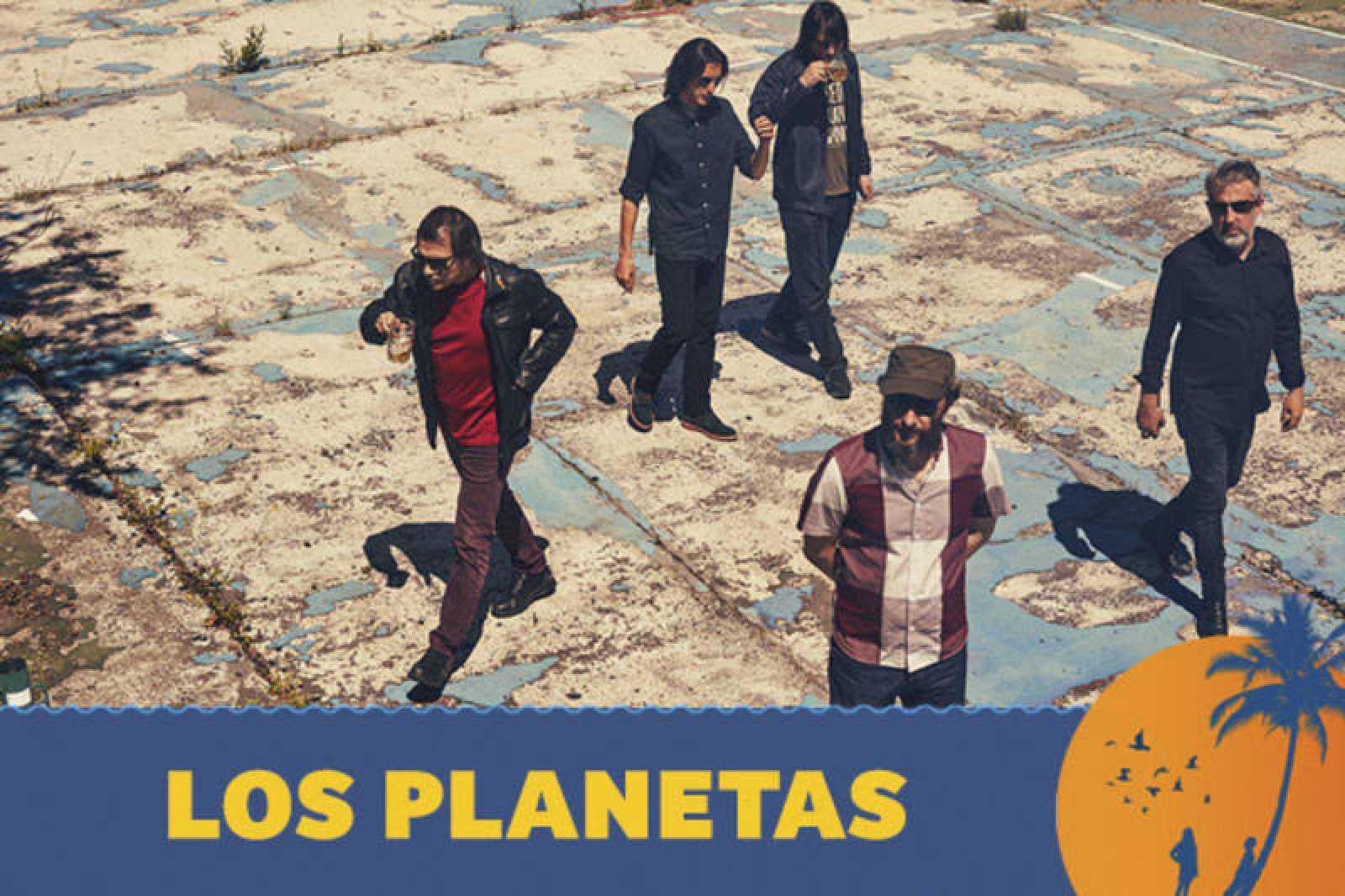¡Los Planetas estarán presentando su nuevo disco que se publica en marzo.