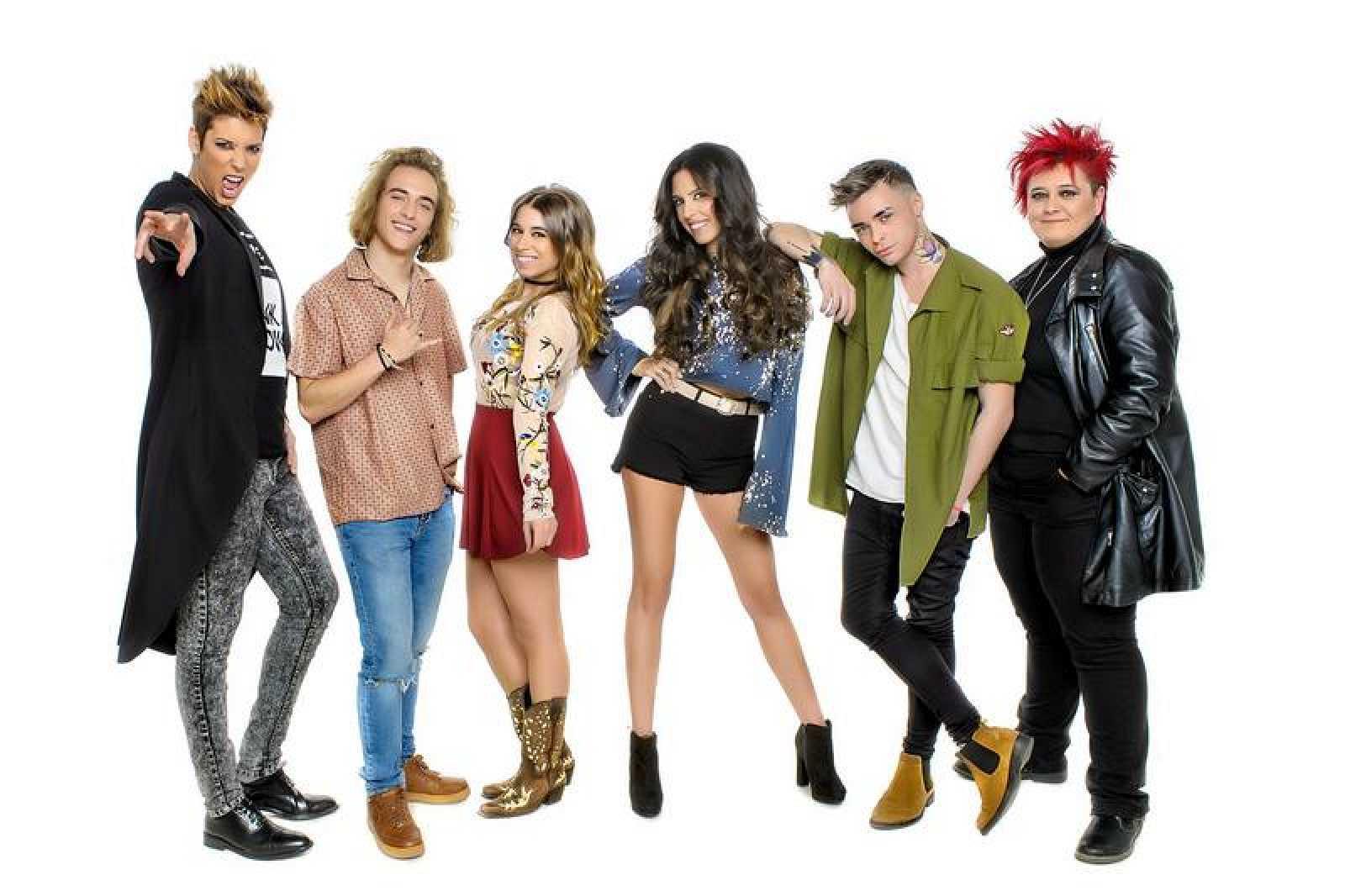 Seis artistas participan en 'Objetivo Eurovisión'