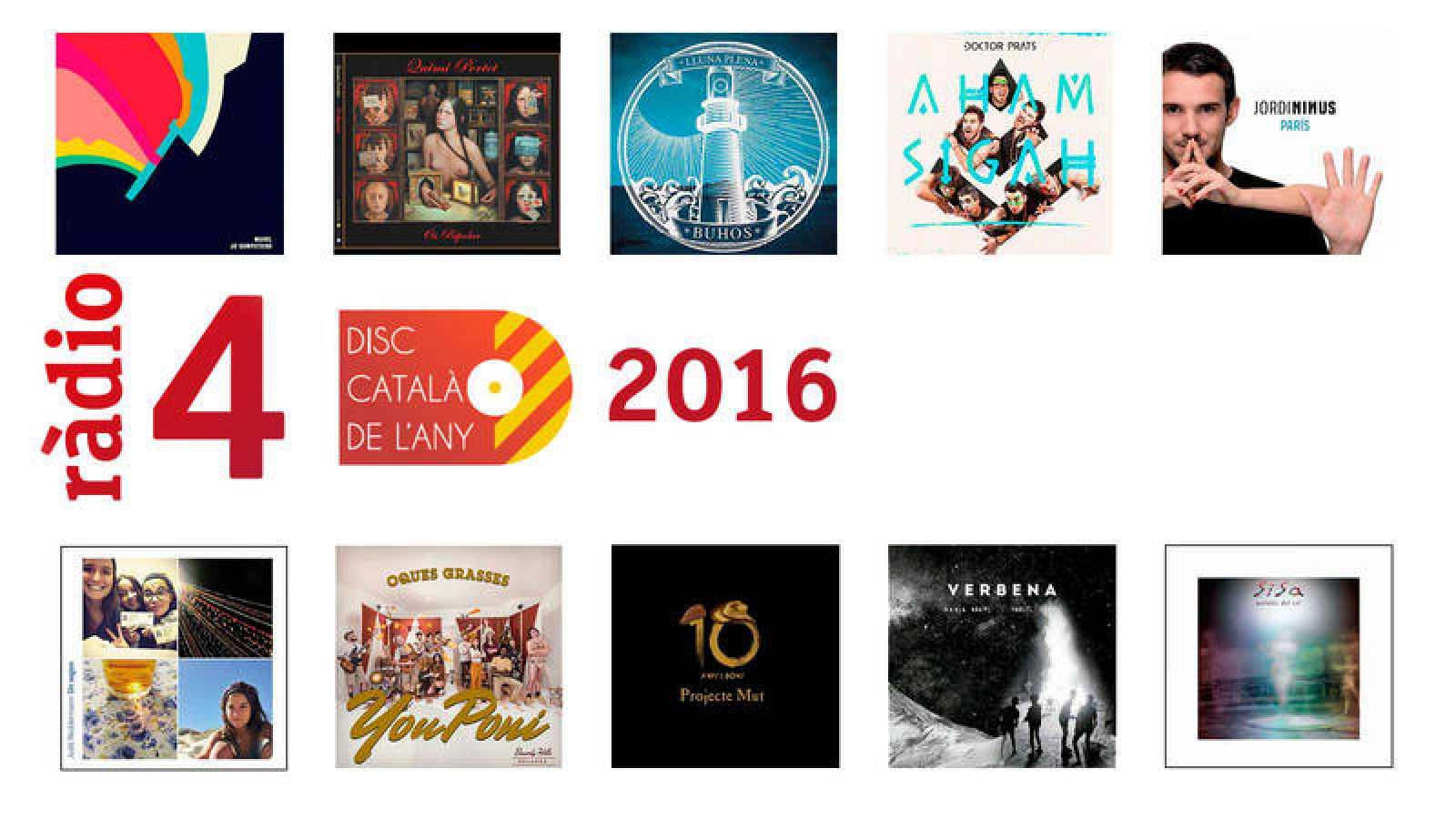 Vota el Disc Català de l'Any 2016