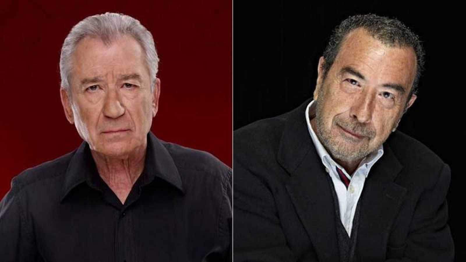 José Luis Garci y José Sacristán.