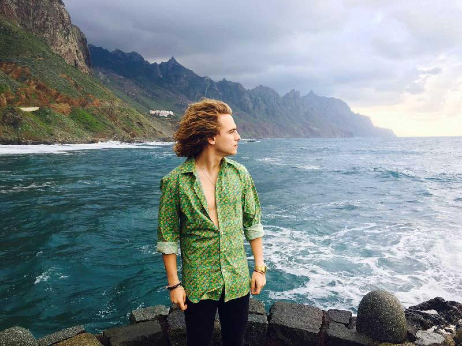 Manel Navarro ha escogido Tenerife para grabar el videoclip de 'Do it for your lover'