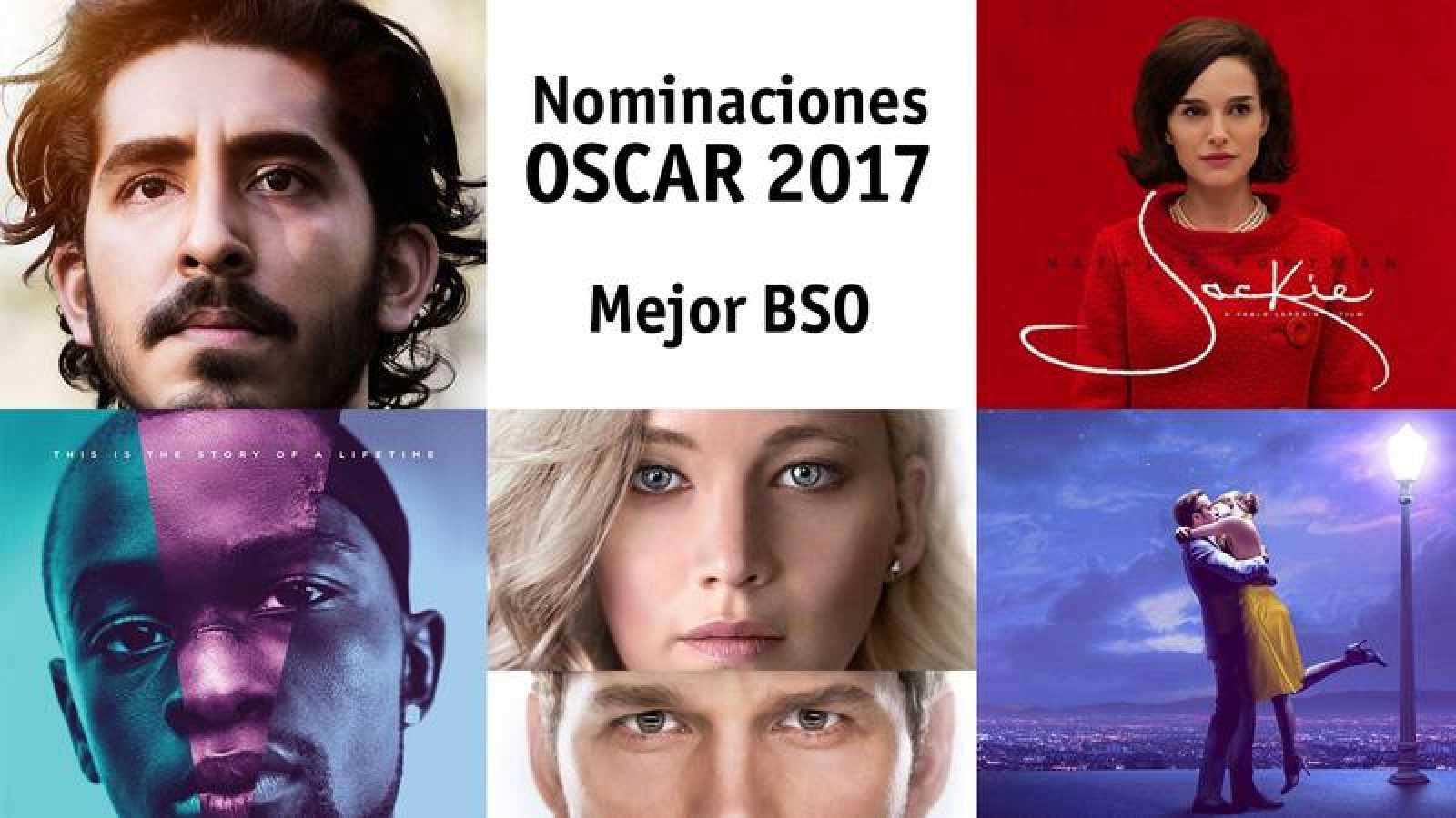 Interactivo Oscar 2017 - Nominados a Mejor Banda Sonora