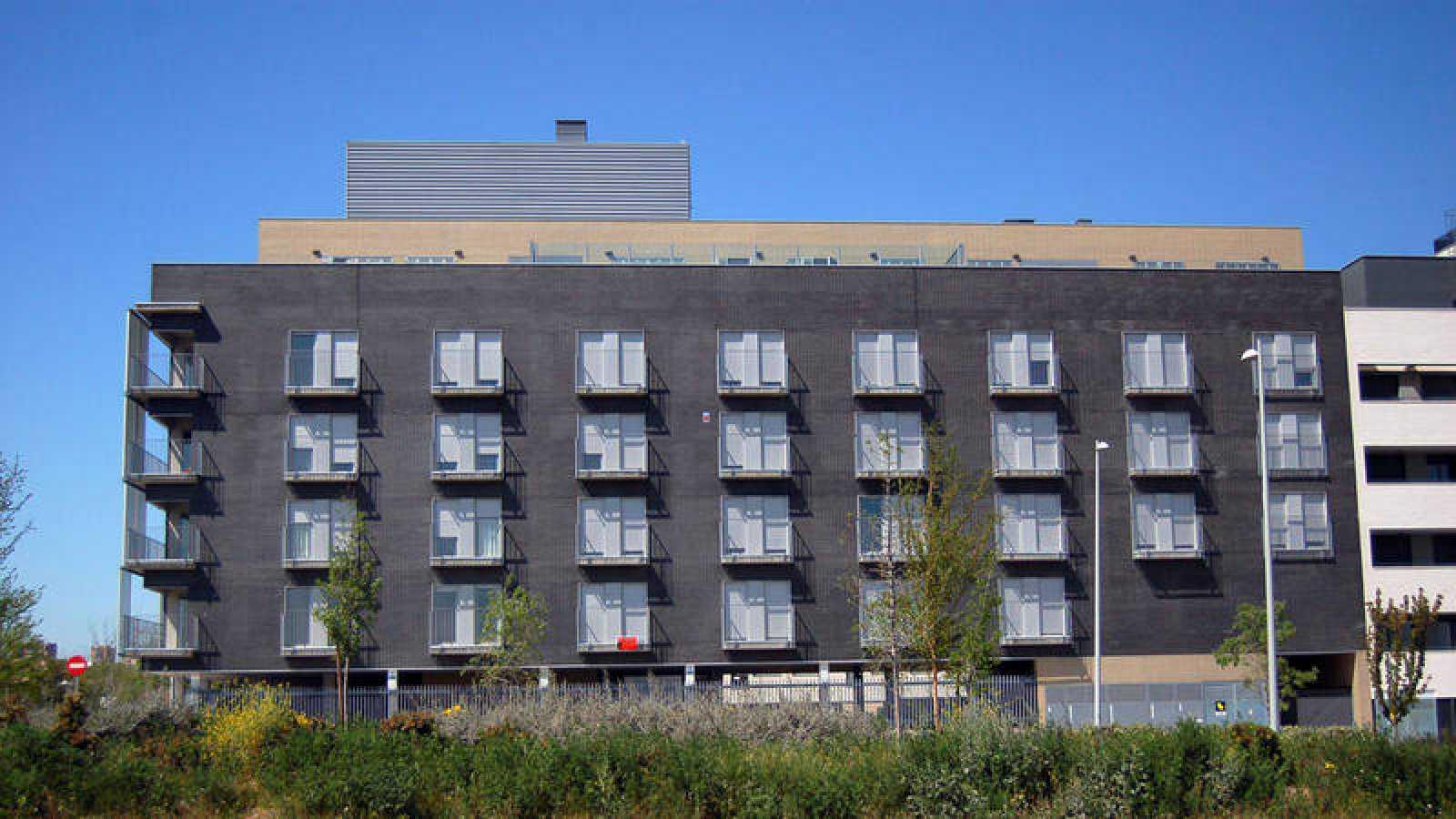 Imagen de archivo de una promoción de viviendas en Valdebebas (Madrid)
