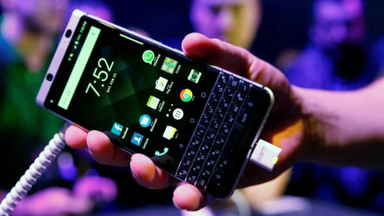 El BlackBerry KEYone fue presentado en la antesala del MWC 2017.