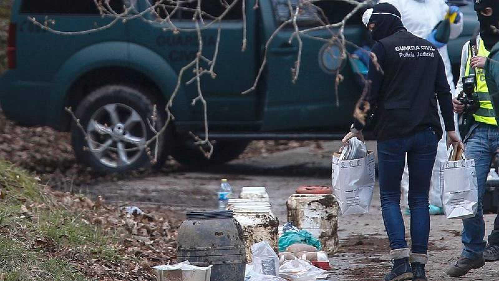 El 8 de marzo la Guardia Civil localizó un zulo de ETA con material explosivo