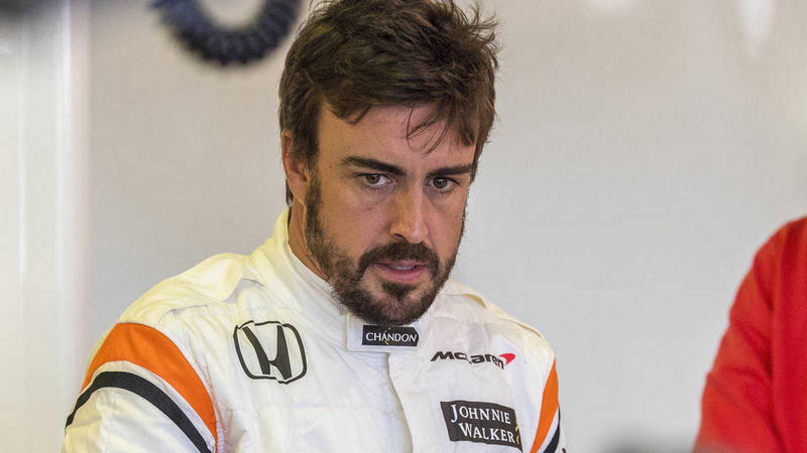 Fernando Alonso, muy critico tras abandonar en Melbourne.