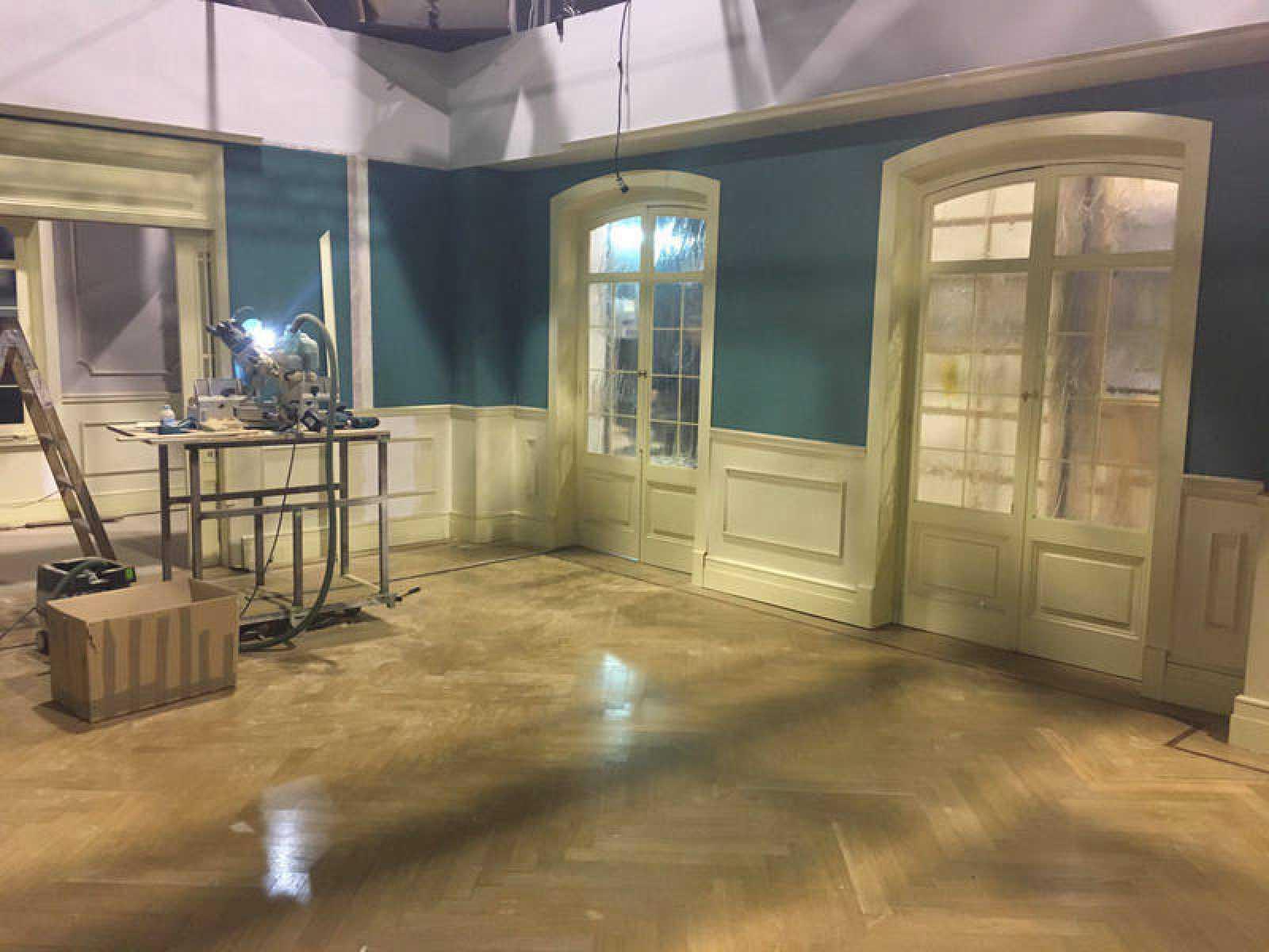 Los decorados interiores de 'Acacias 38' después de su traslado