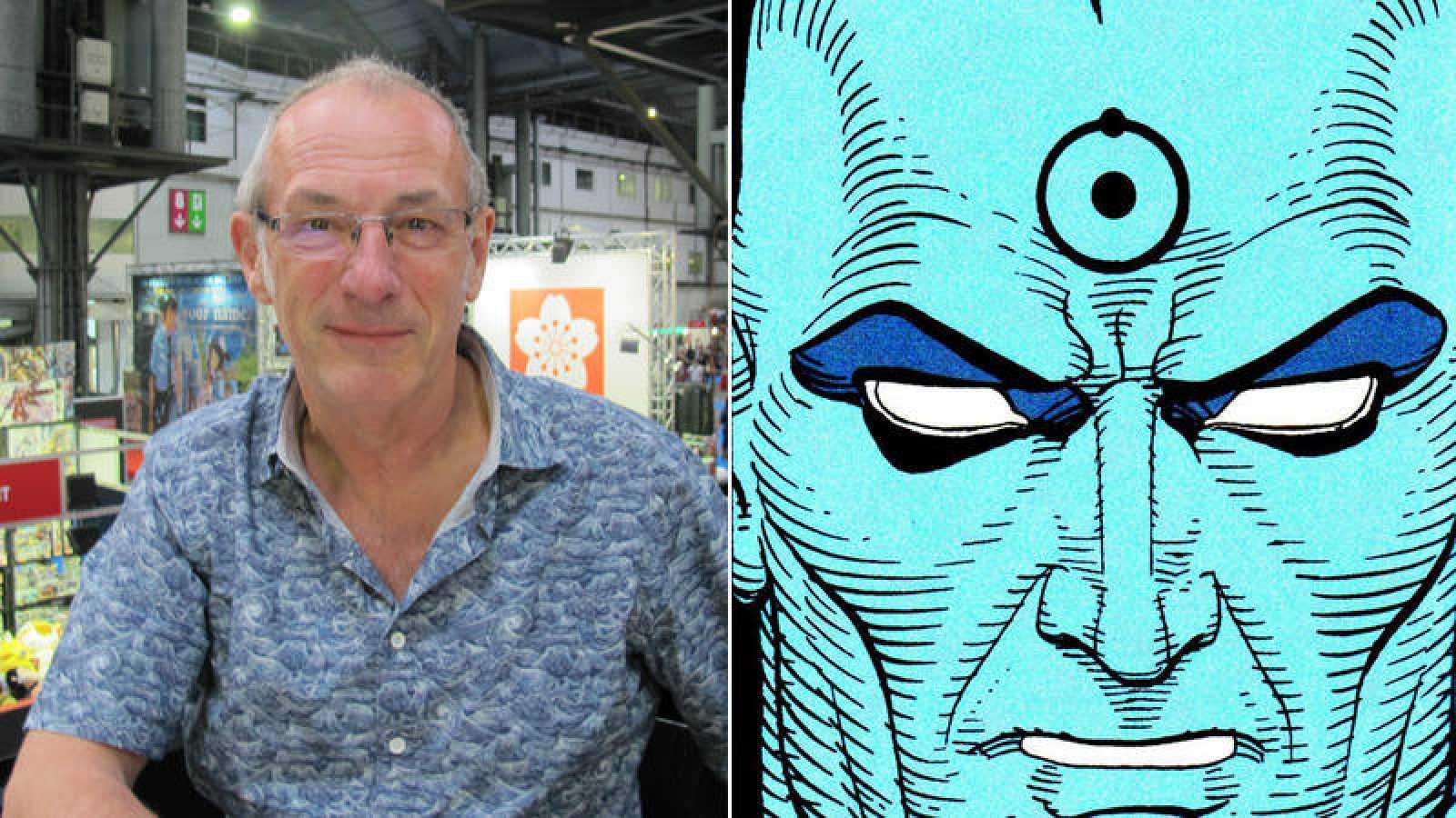 Dave Gibbons y el Dr. Manhattan
