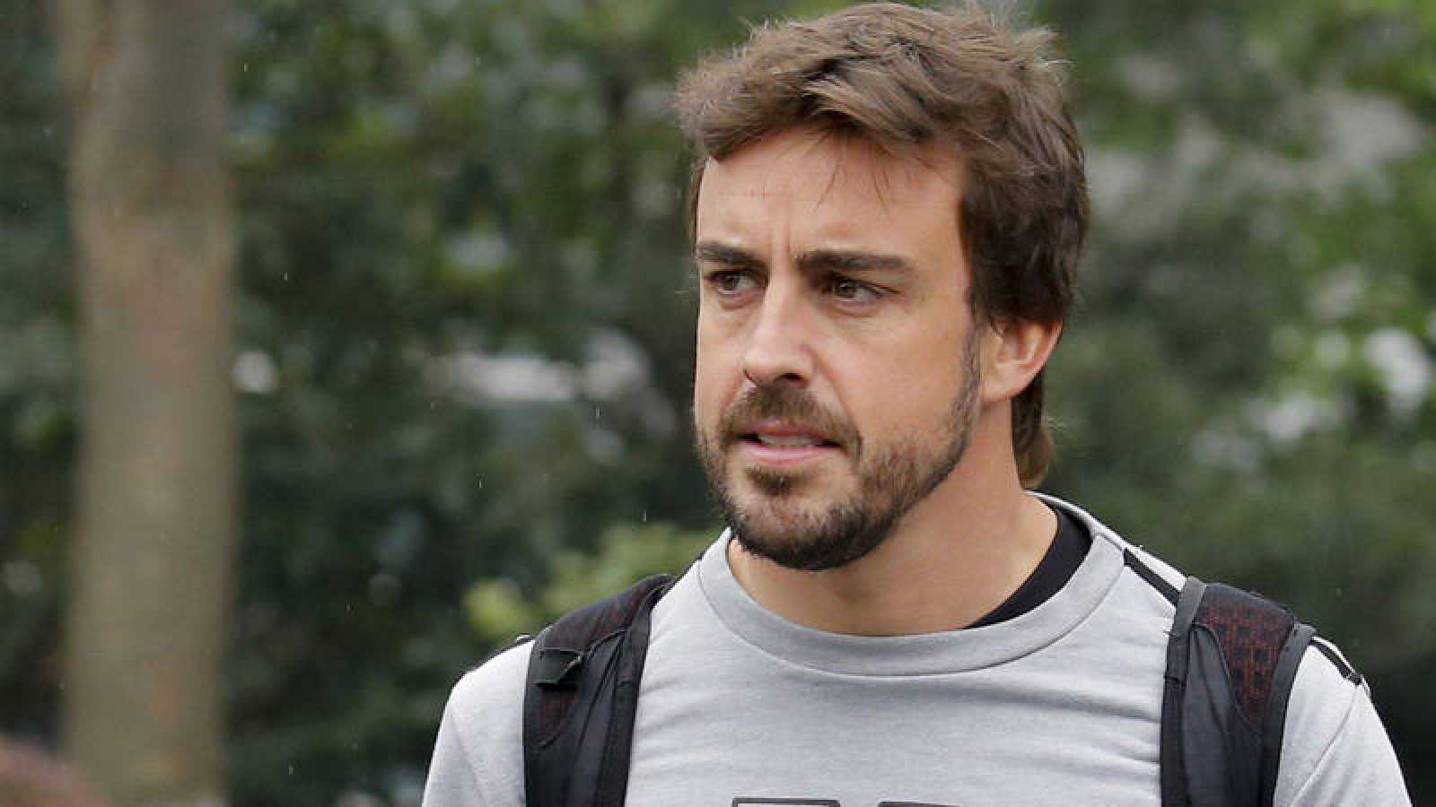 El piloto español de Fórmula 1 Fernando Alonso, en China