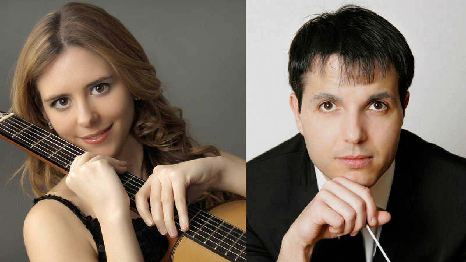 Mabel Millán y Francisco Valero