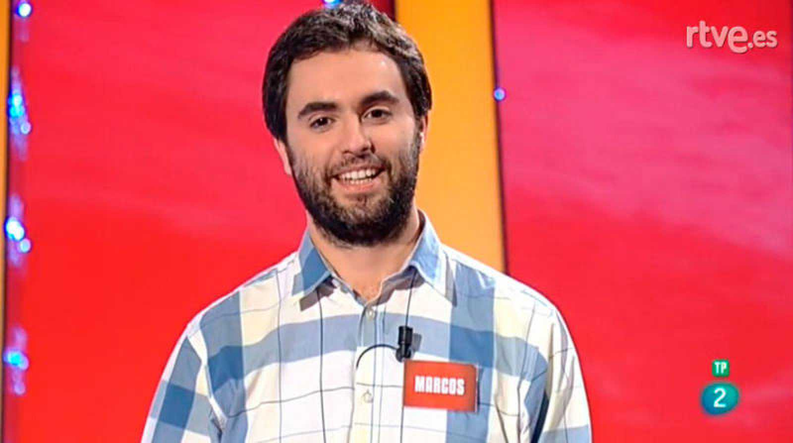 Marcos García, nuevo Magnífico en Saber y Ganar