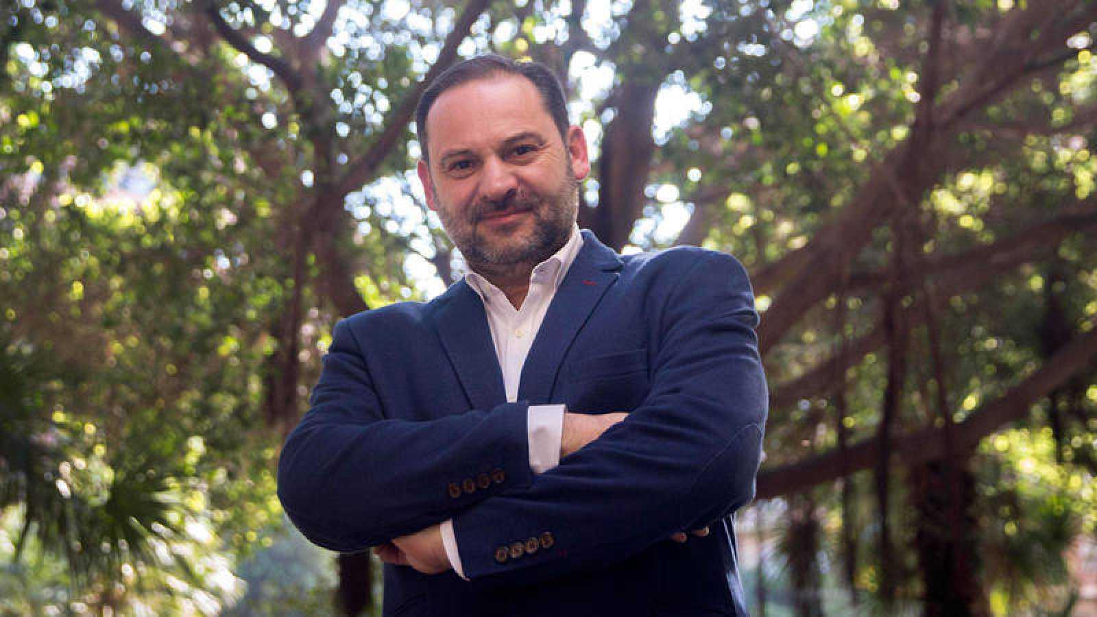 El portavoz y coordinador de la campaña de Pedro Sánchez, el diputado por Valencia José Luis Ábalos