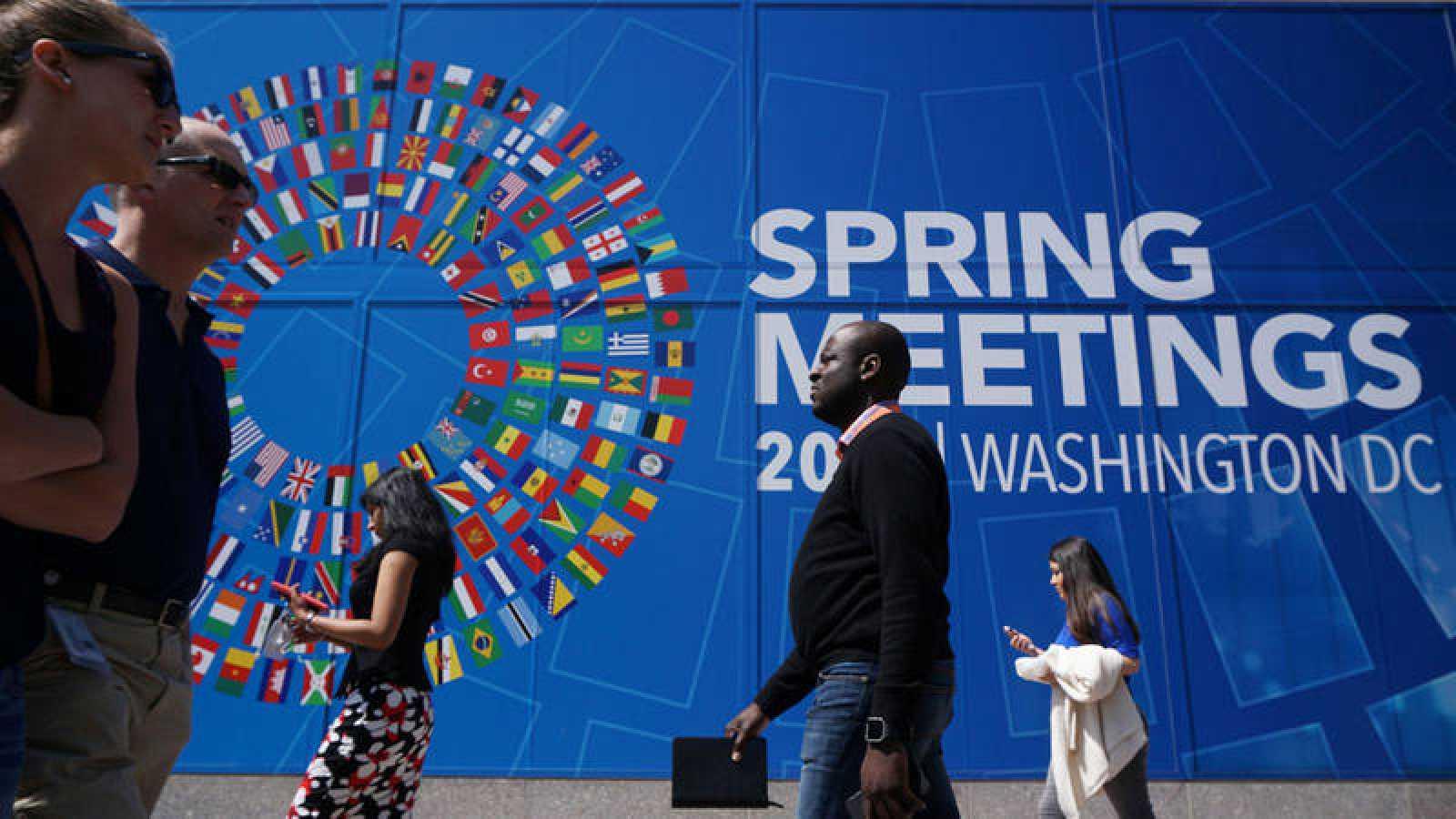 El FMI celebra su asamblea de primavera en Washington
