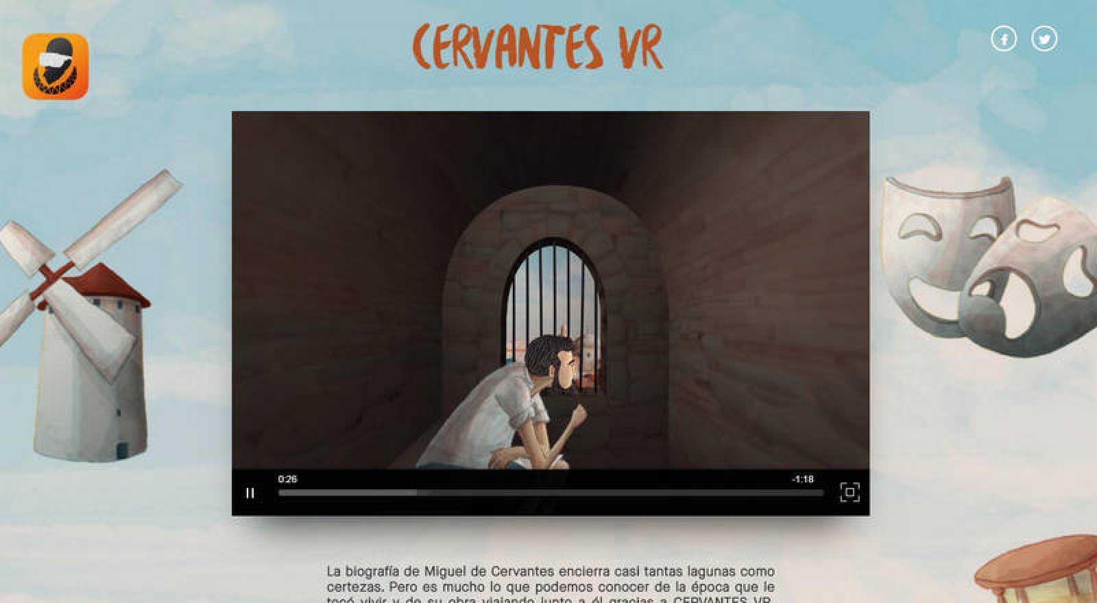'Cervantes VR'