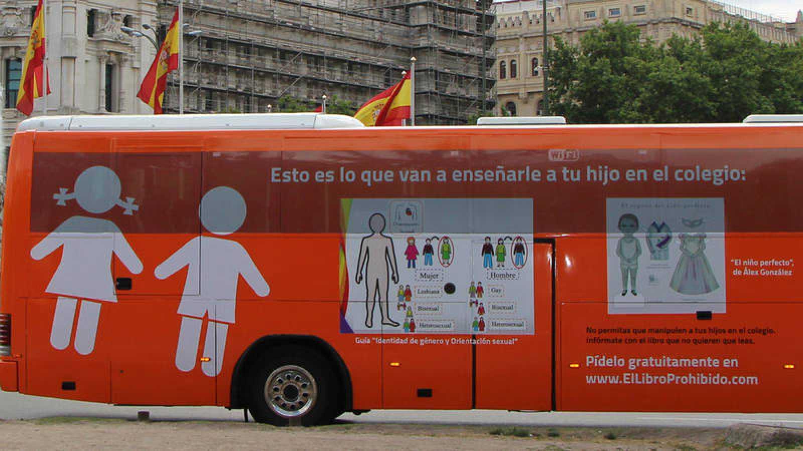 El nuevo  autobús de HazteOír