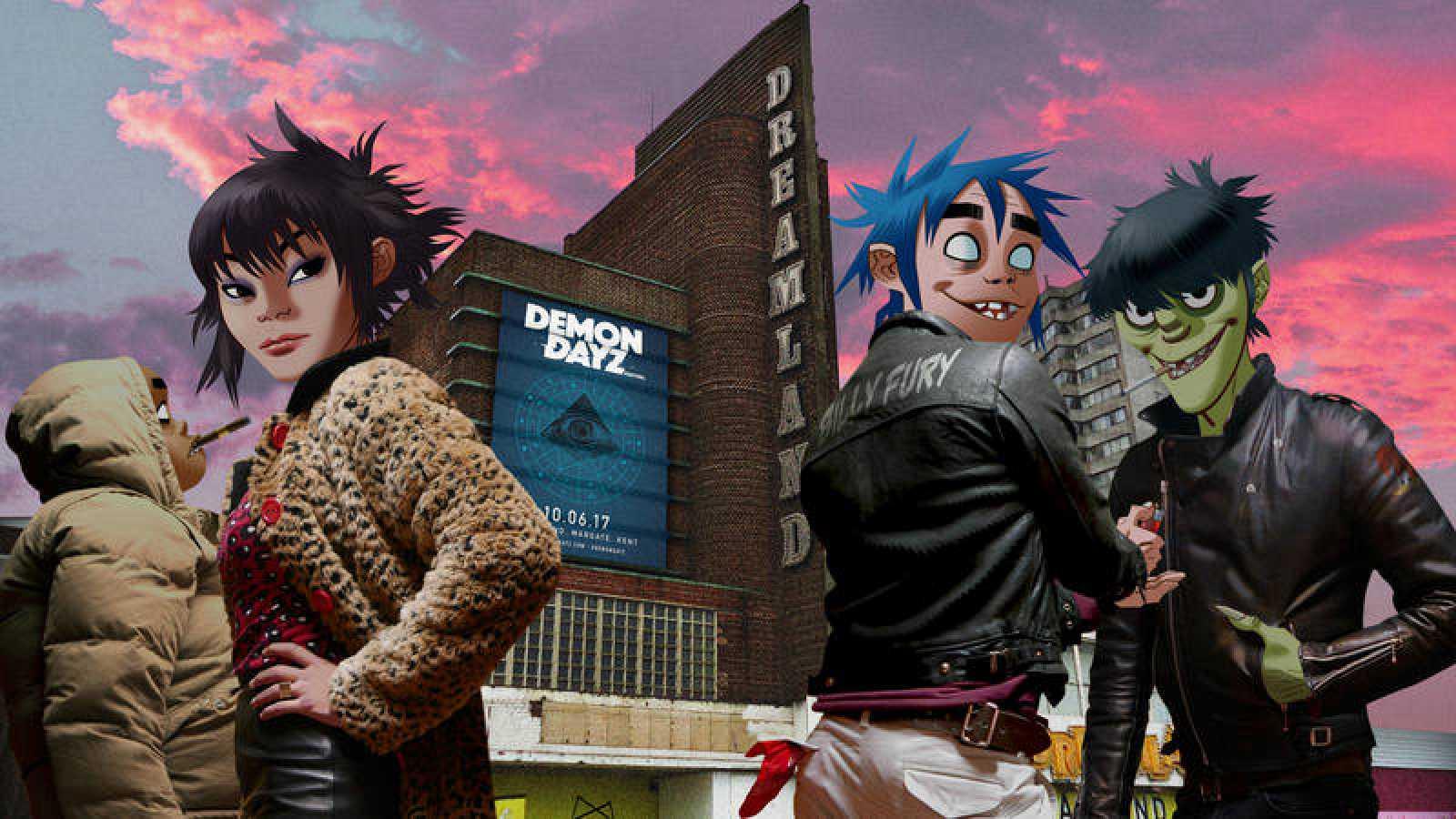 Cuéntanos cuál es tu personaje favorito de Gorillaz y gana un viaje al Demon Dayz