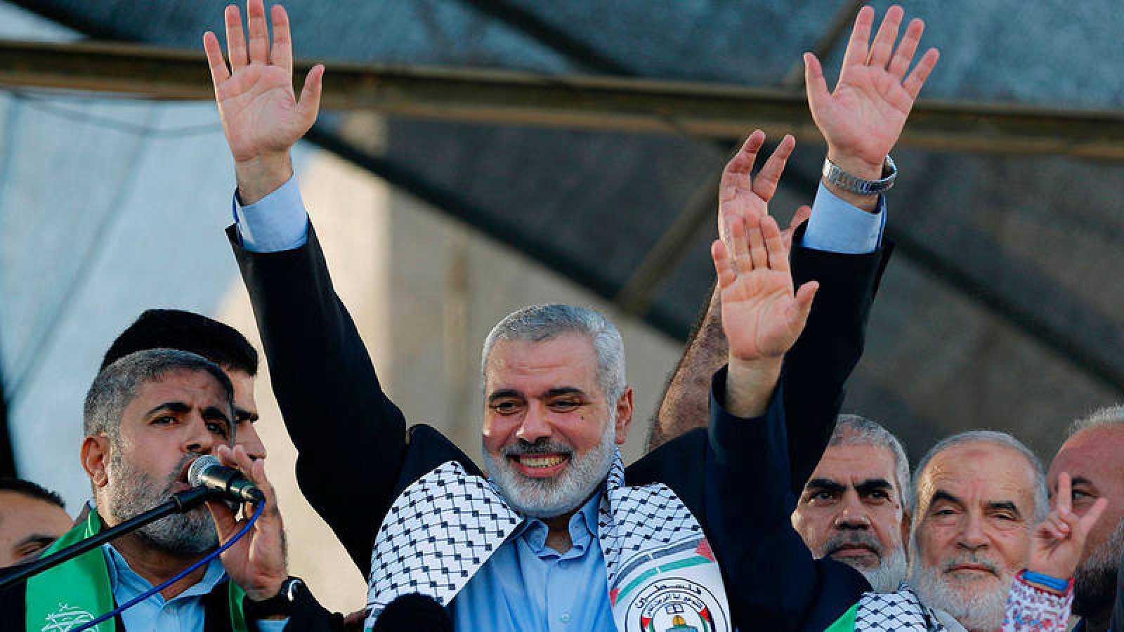Imagen de archivo de Ismail Haniya, nuevo líder de Hamás