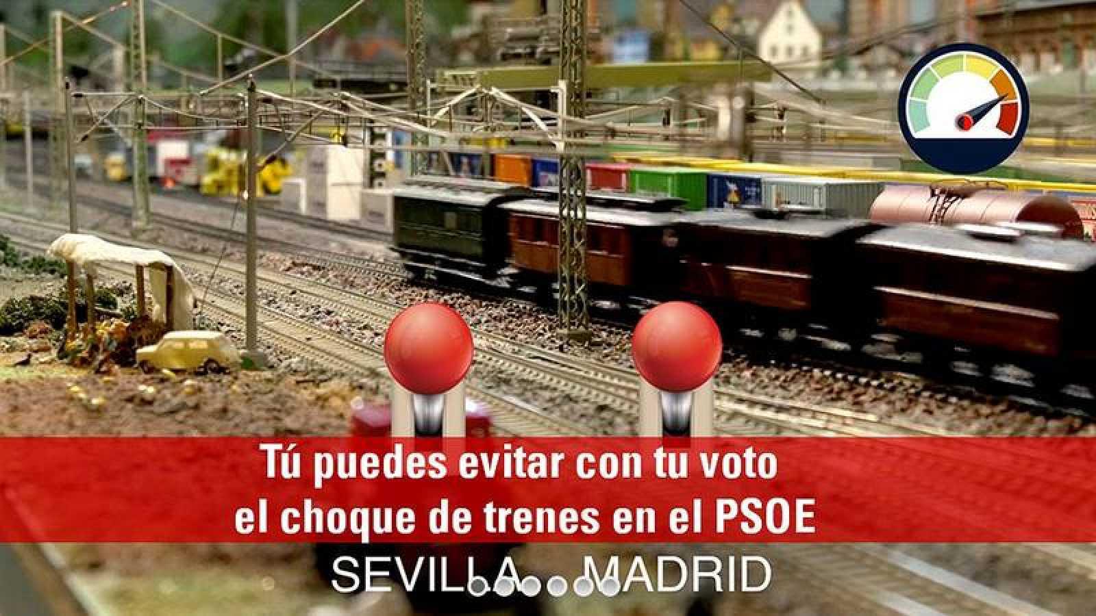 López quiere evitar el choque de trenes Díaz-Sánchez.