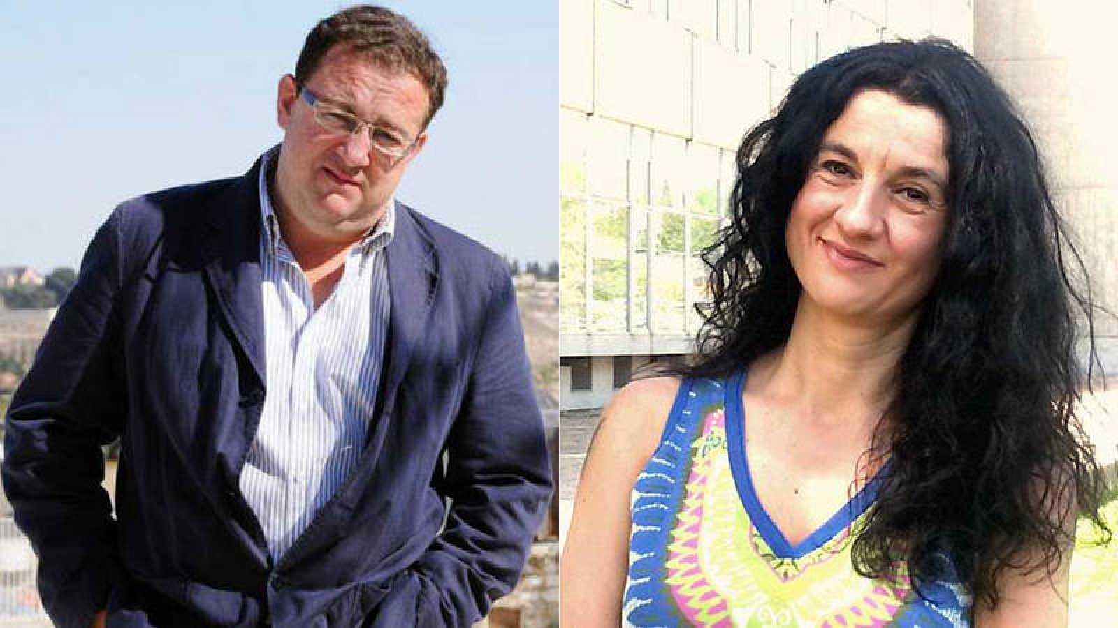 Francisco González Forjas y Cristina Sánchez.