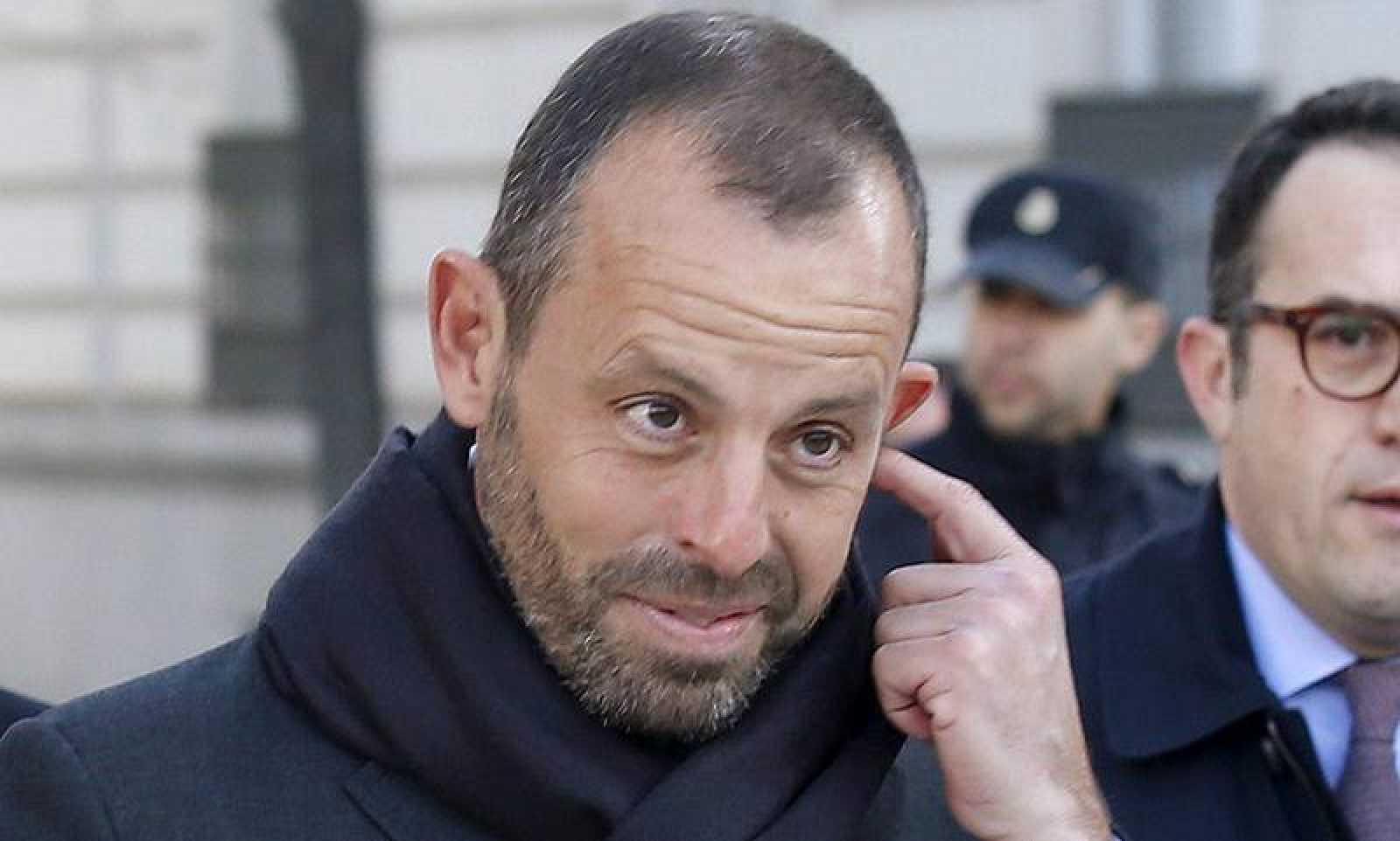 El expresidente del Barça Sandro Rosell.