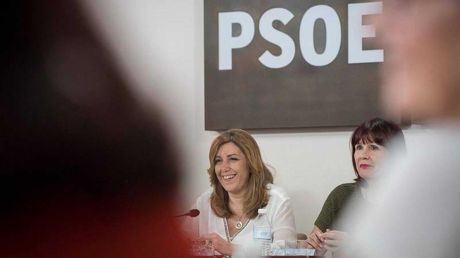 Susana Díaz apoyará a la nueva dirección del PSOE que proponga Pedro Sánchez