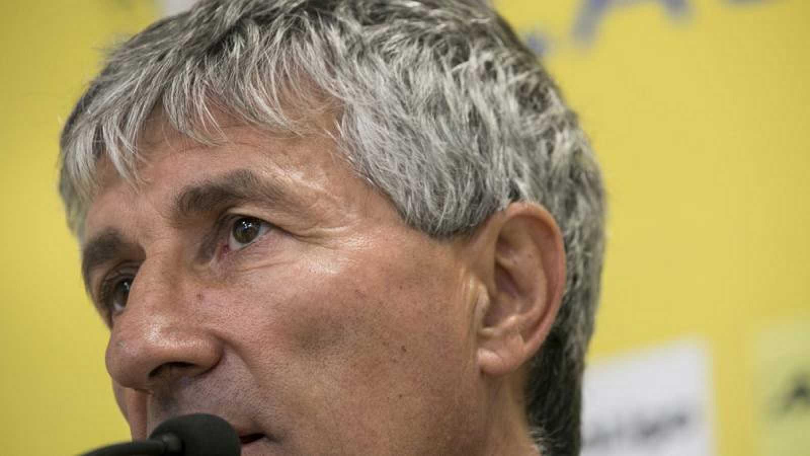 Quique Setién, entrenador del Betis para las próximas tres temporadas