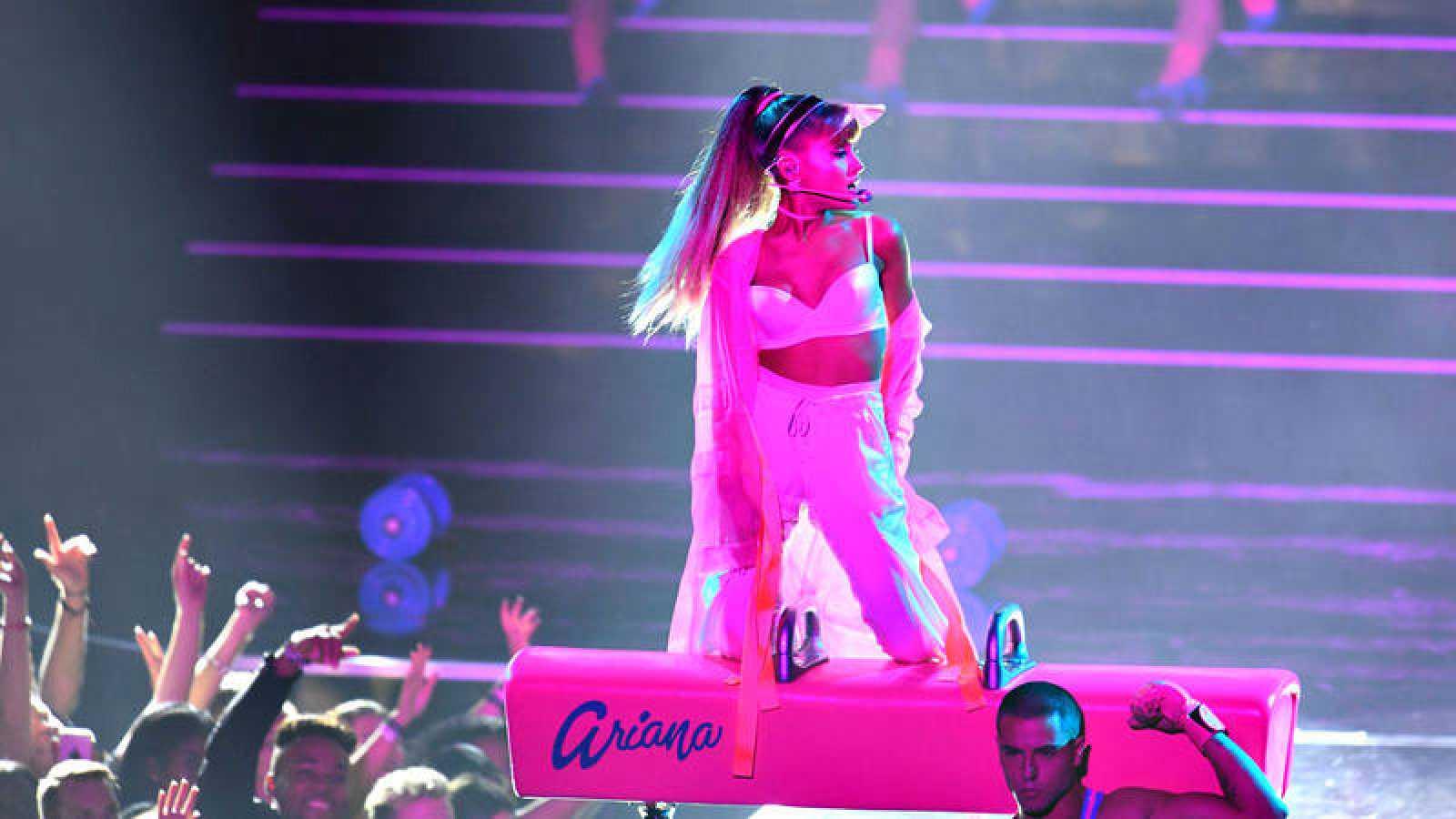 La cantante estadounidense Ariana Grande, en una imagen de archivo