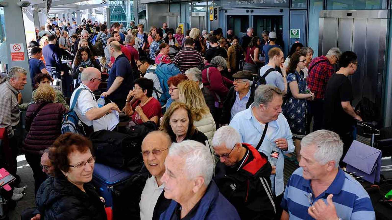 Un fallo informático provoca retrasos a nivel mundial en los vuelos de British Airways